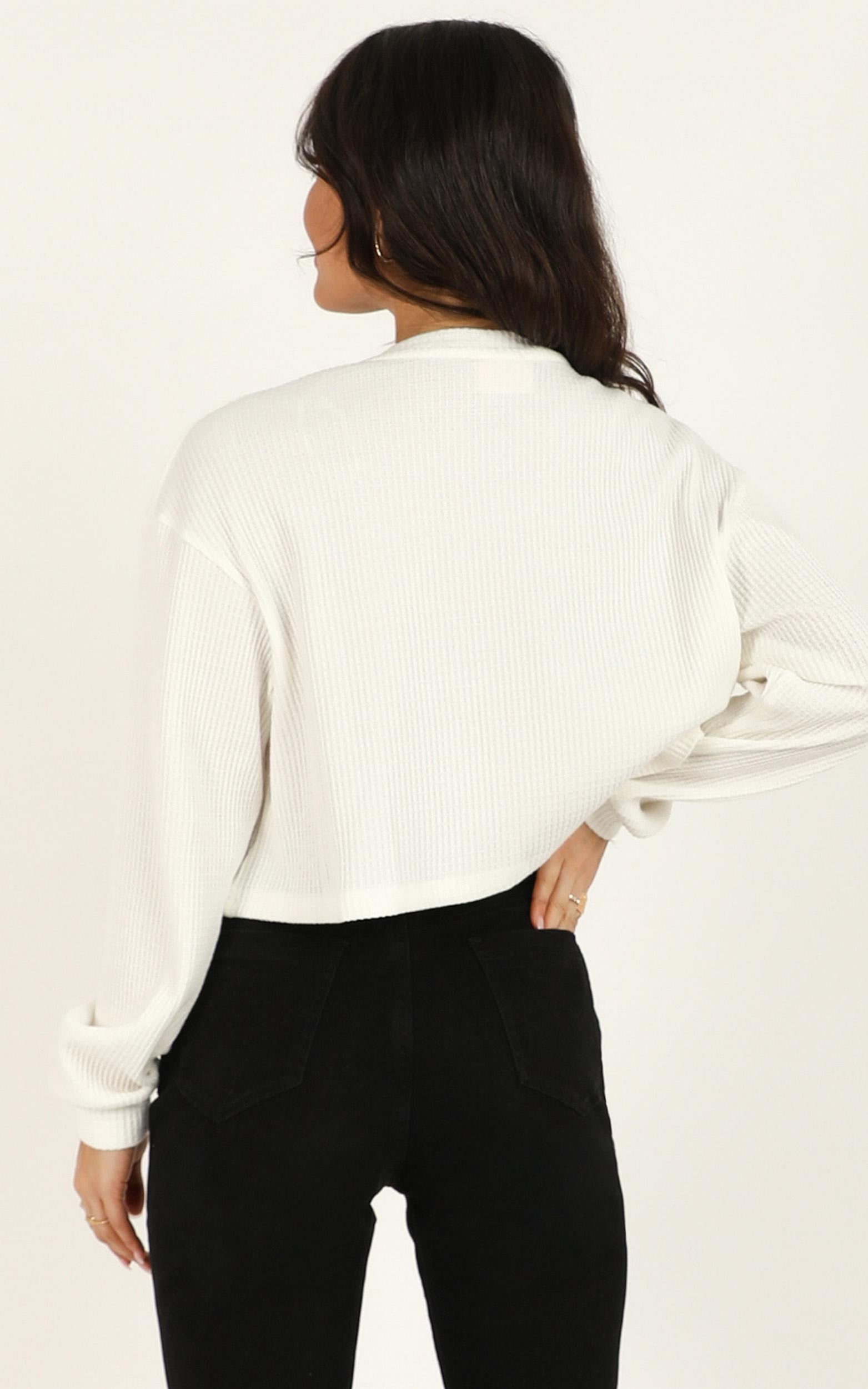 Call It Quits top in white - 12 (L), White, hi-res image number null