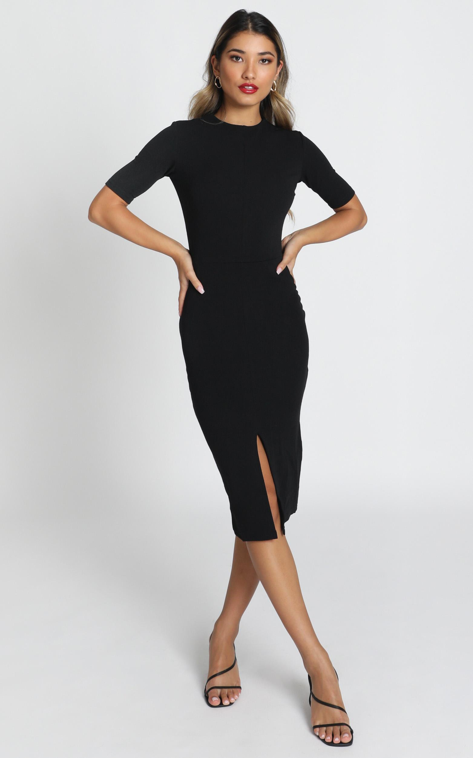 Tall Tales dress in black - 6 (XS), Black, hi-res image number null