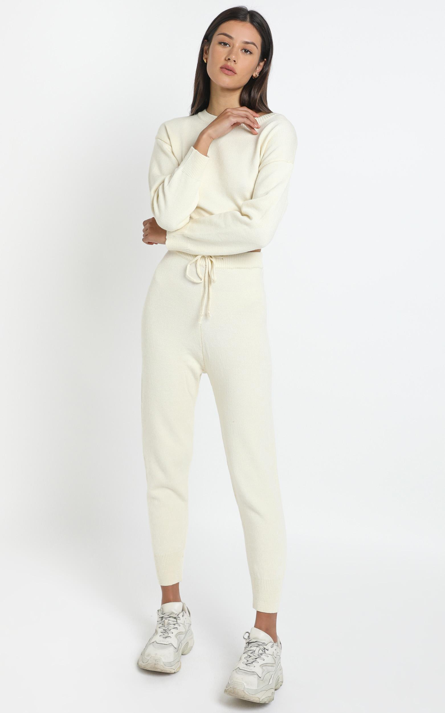 Carina Pant in White - L, White, hi-res image number null