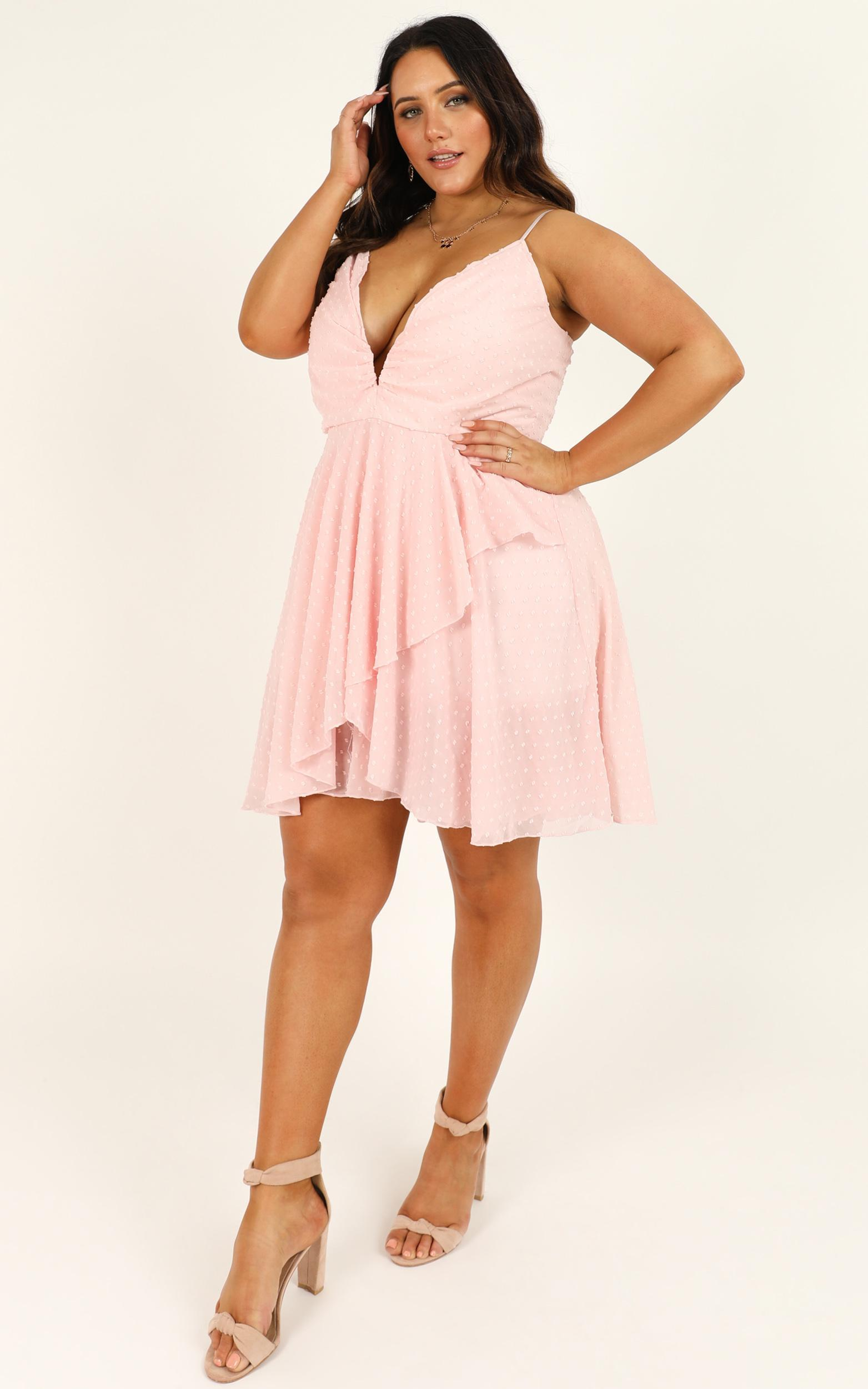 Feels Like heaven dress in soft pink - 20 (XXXXL), Blush, hi-res image number null