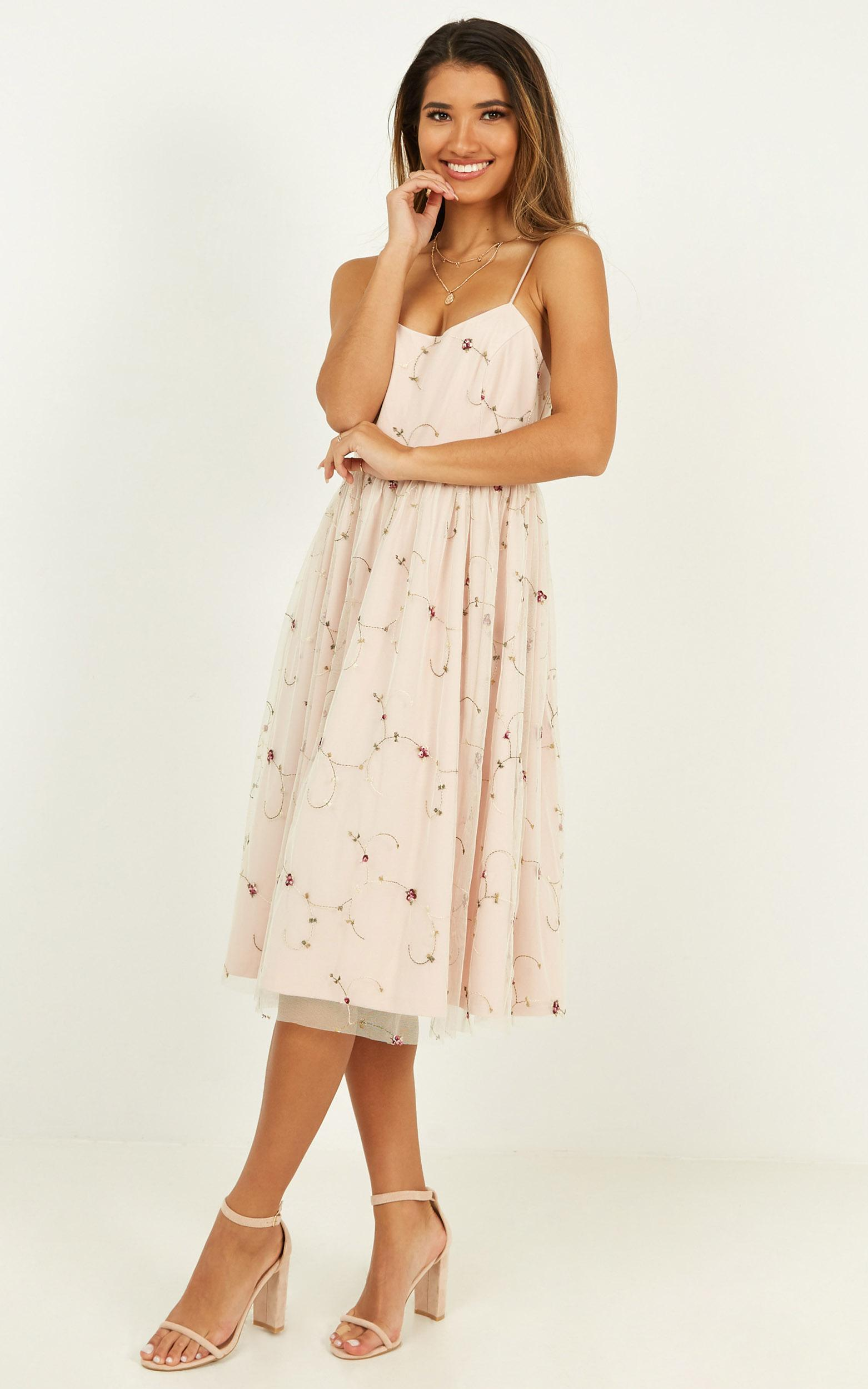 You Never Knew Dress in nude - 20 (XXXXL), Beige, hi-res image number null