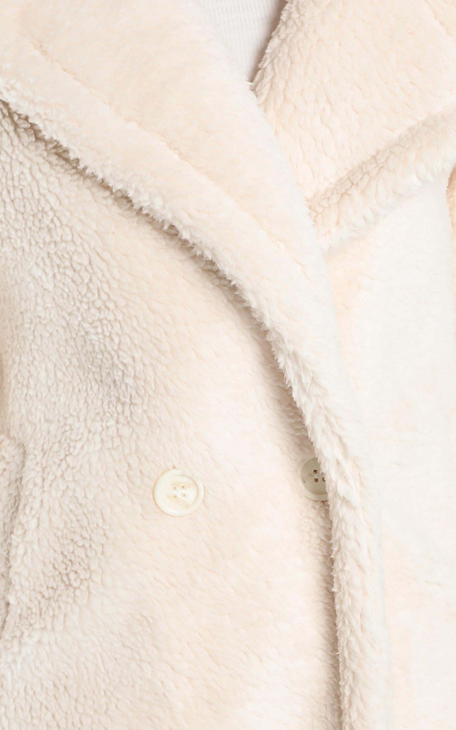Olwen Coat in Cream - S, Cream, hi-res image number null