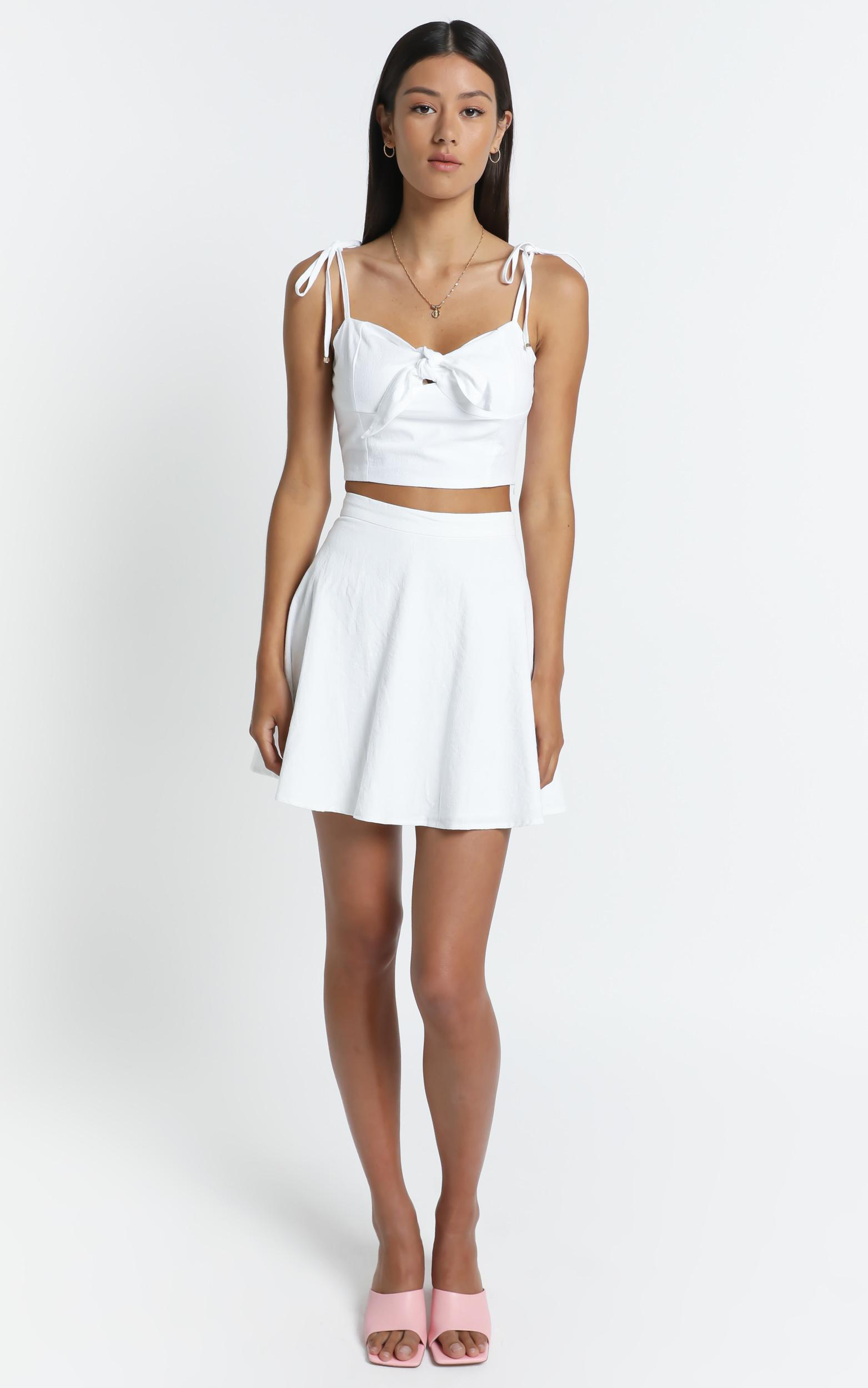 Pei Skirt in White - 6 (XS), White, hi-res image number null