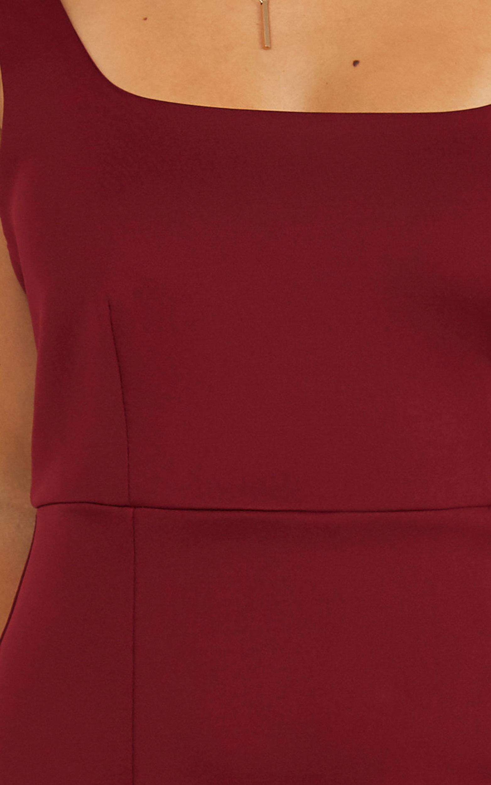 Mini Love Dress In Wine - 4 (XXS), WNE1, hi-res image number null