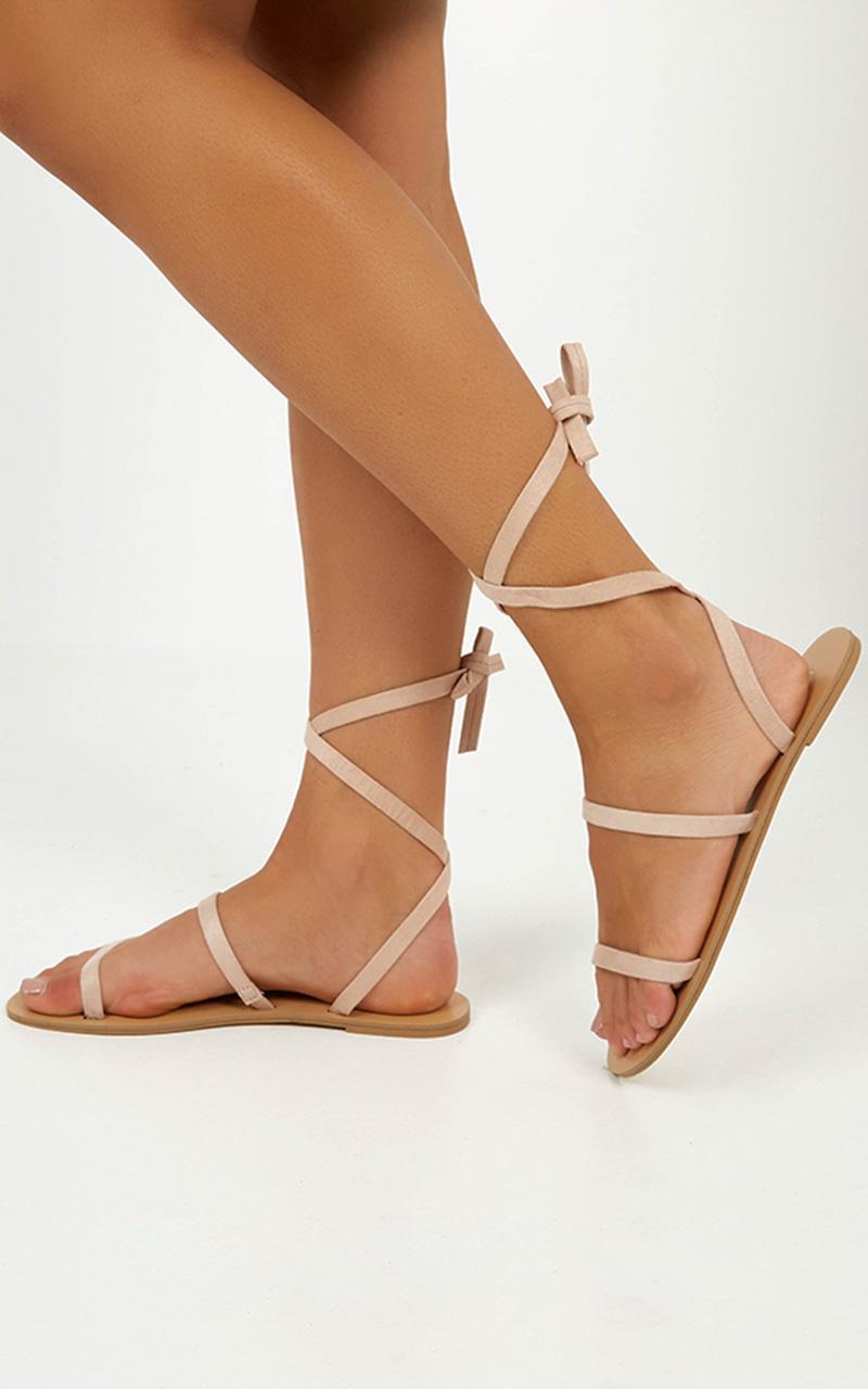 Billini - Carolla sandals in blush micro - 10, Blush, hi-res image number null
