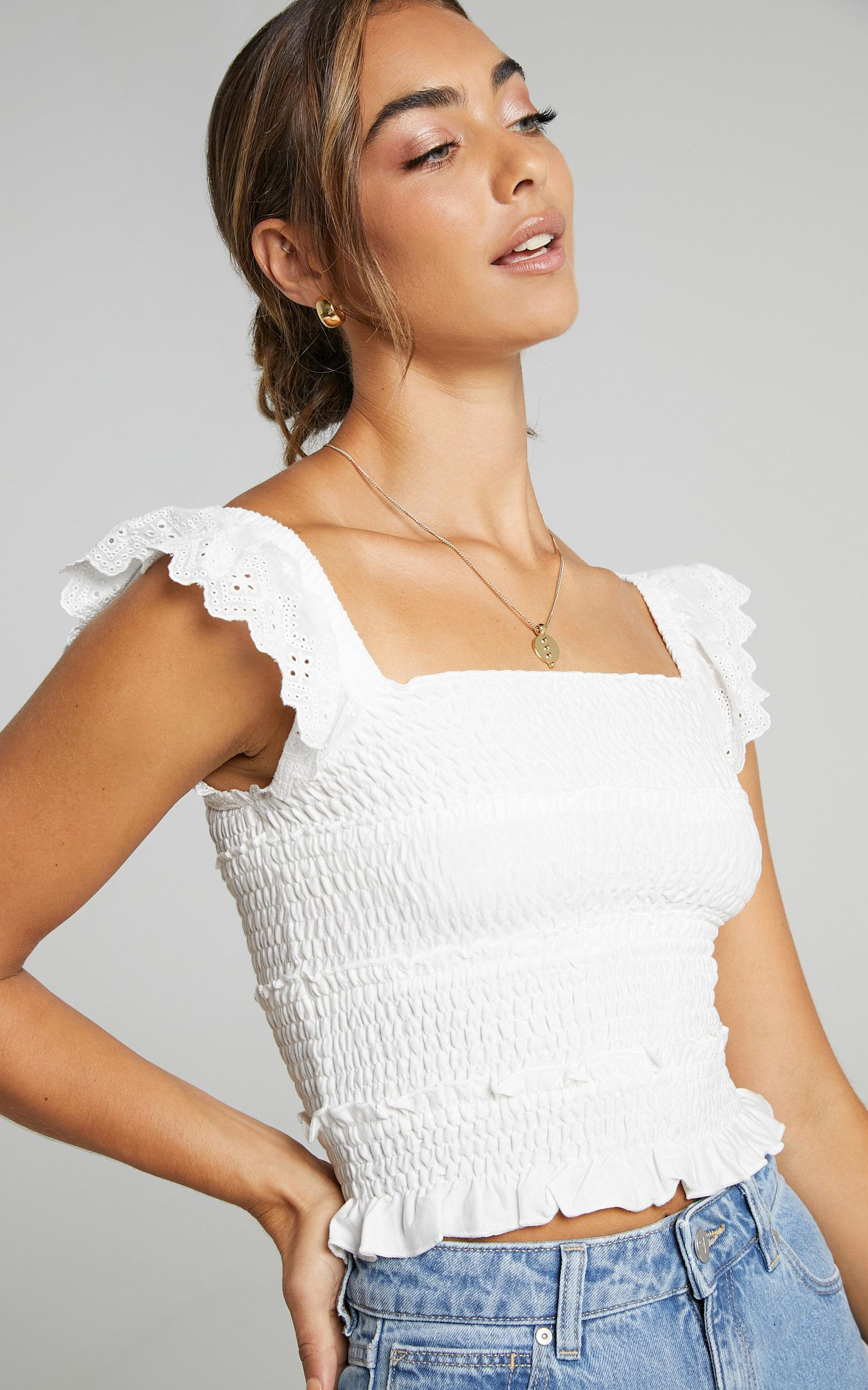Alma Top in White - 08, WHT2, hi-res image number null