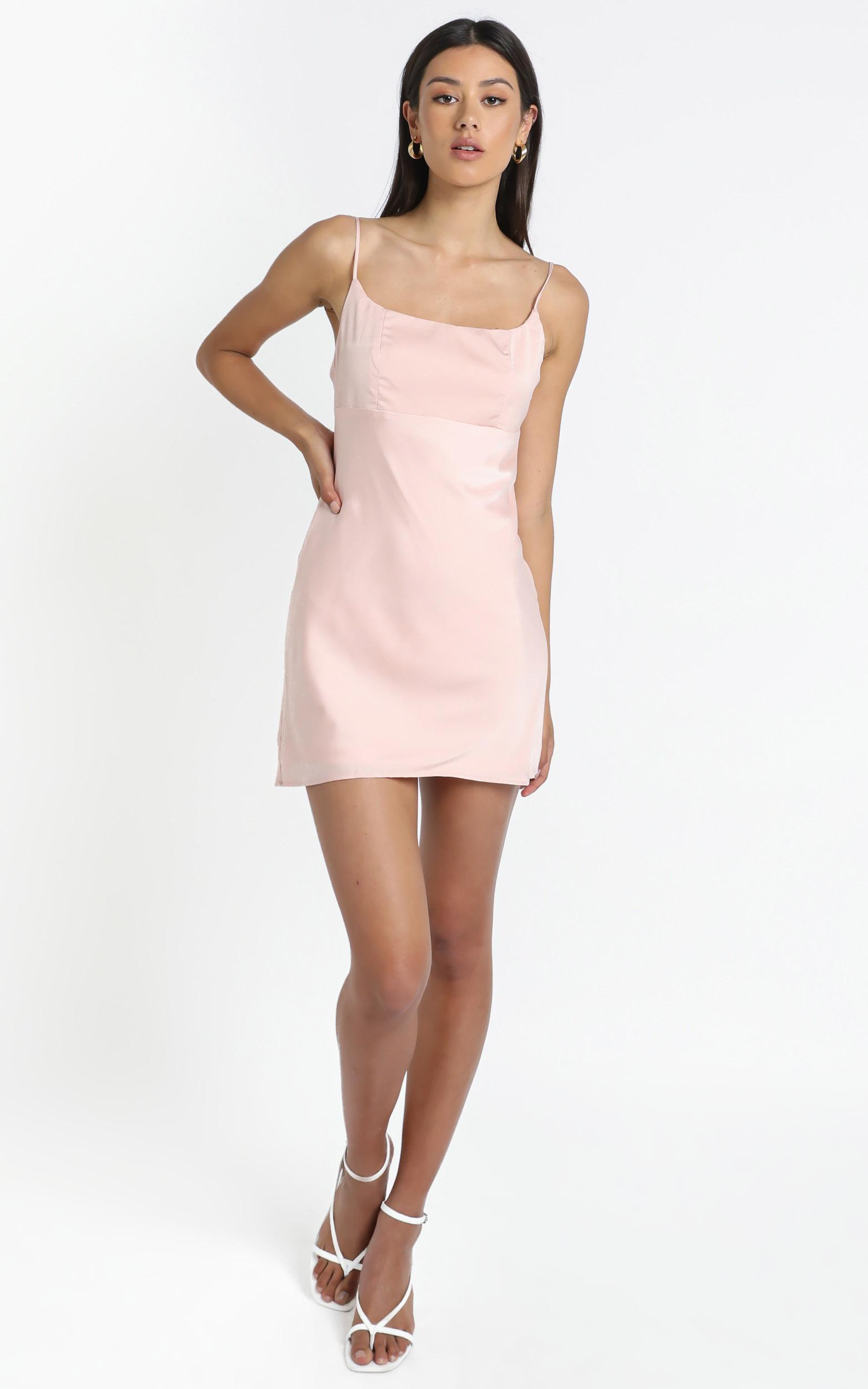 Chase Dress in Pink - 12 (L), Pink, hi-res image number null