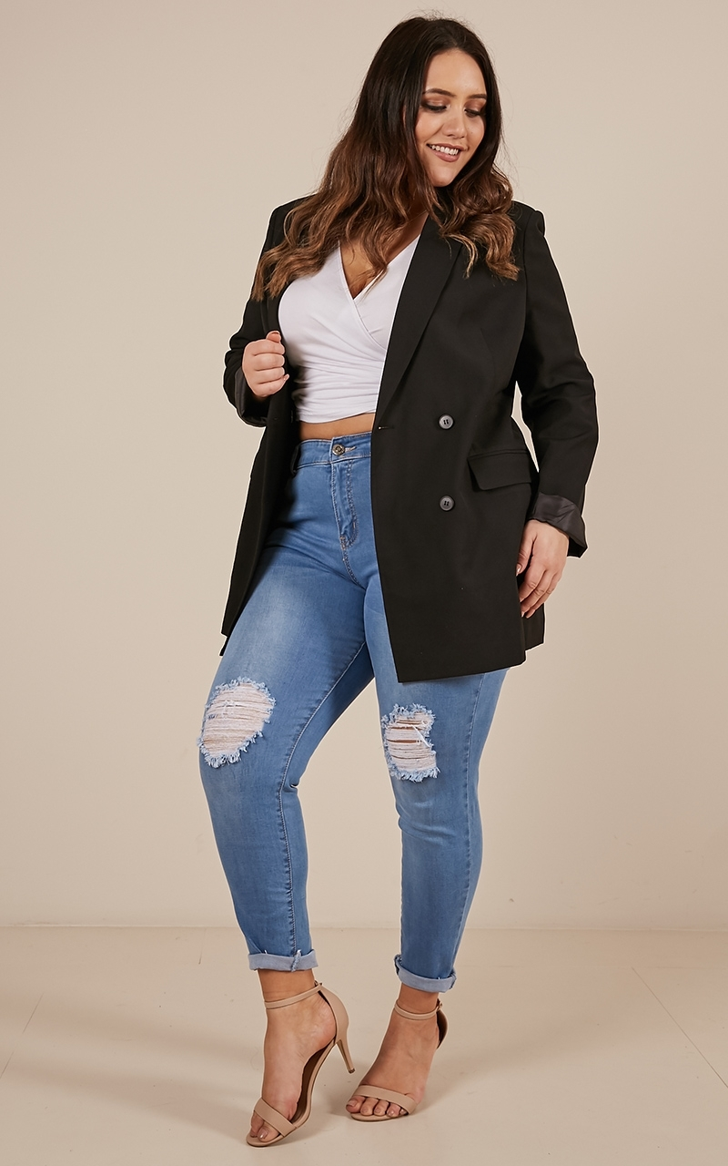 All Grown up Blazer in black - 4 (XXS), Black, hi-res image number null