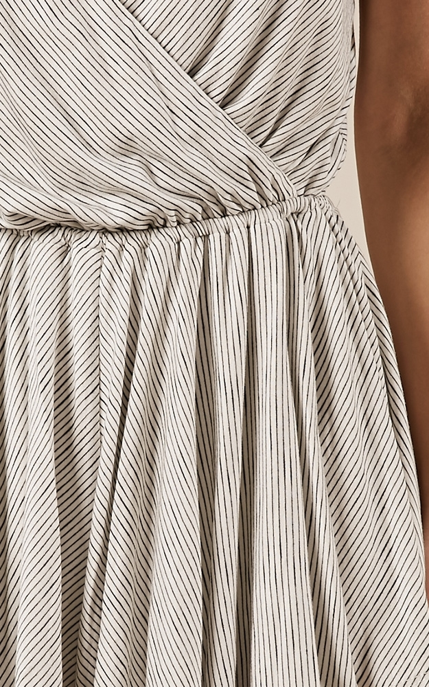 Take a Hike playsuit in white stripe - 8 (S), White, hi-res image number null