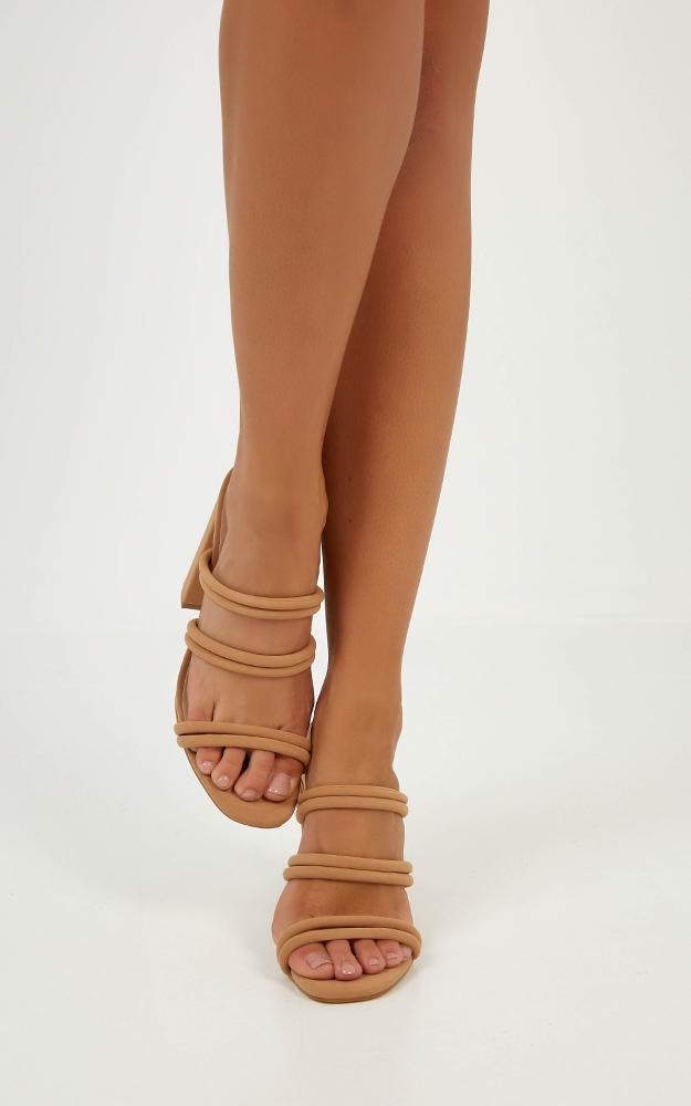 Billini - Ora heels in camel nubuck - 10, Camel, hi-res image number null