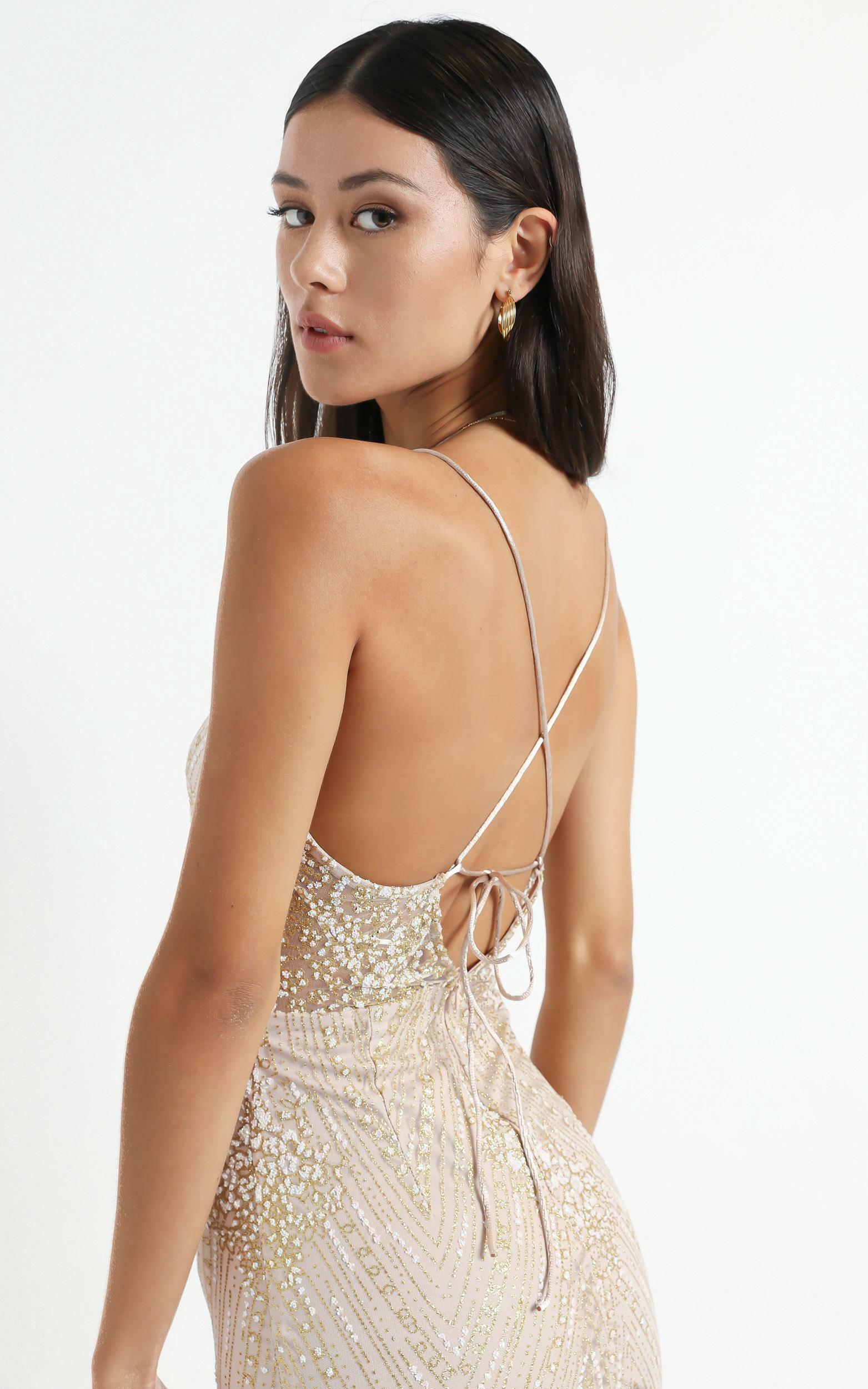 At A Crossroad Maxi Dress in Gold - 10, GLD1, hi-res image number null