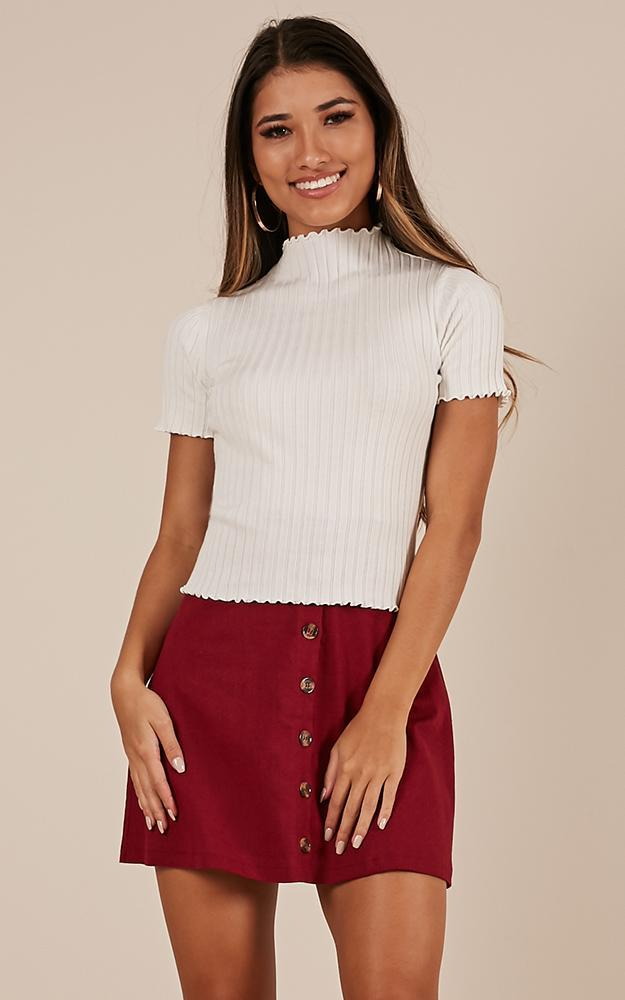 Reverse It top in white - M/L, White, hi-res image number null