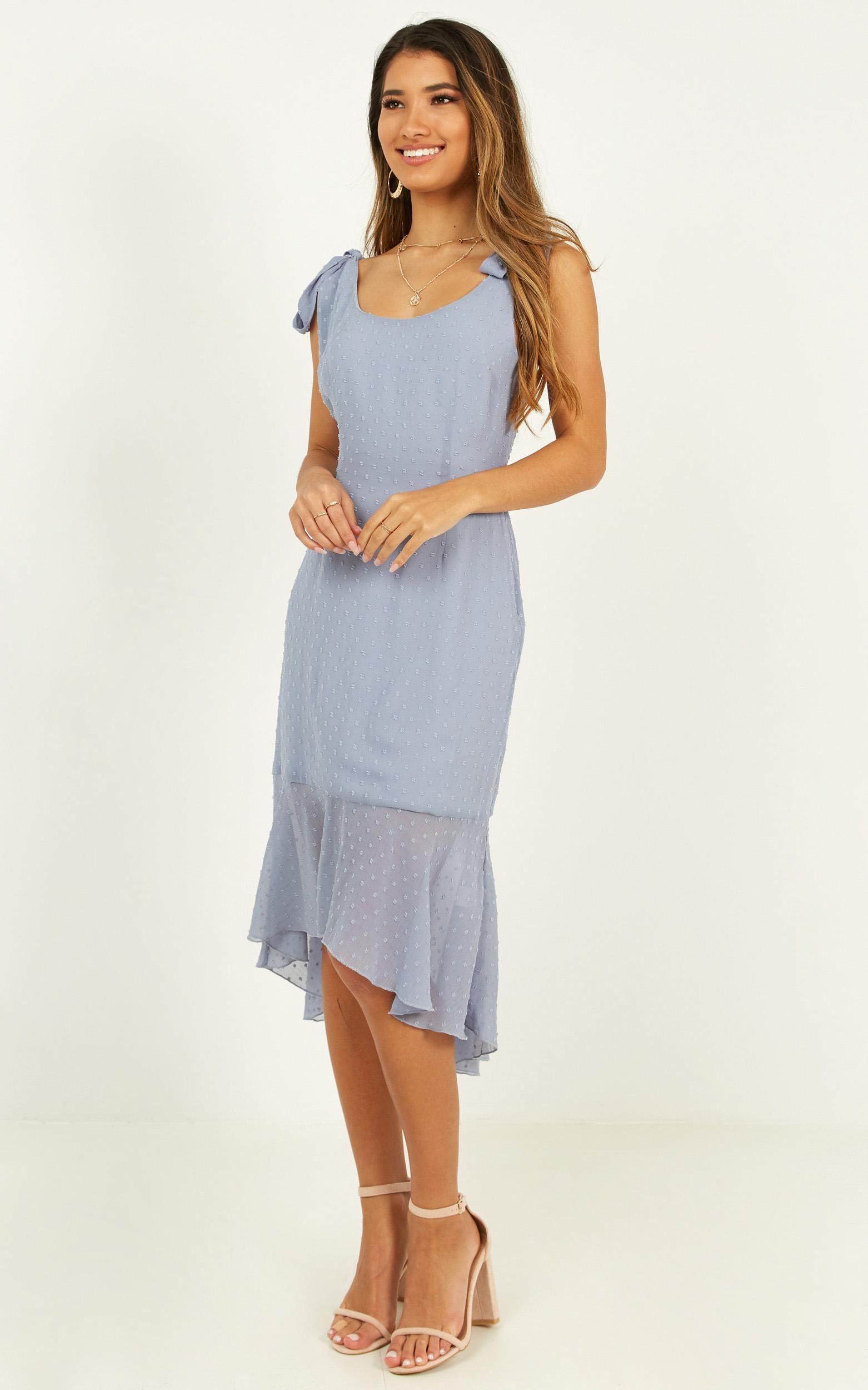 Turn To You Dress in dusty blue - 20 (XXXXL), Blue, hi-res image number null
