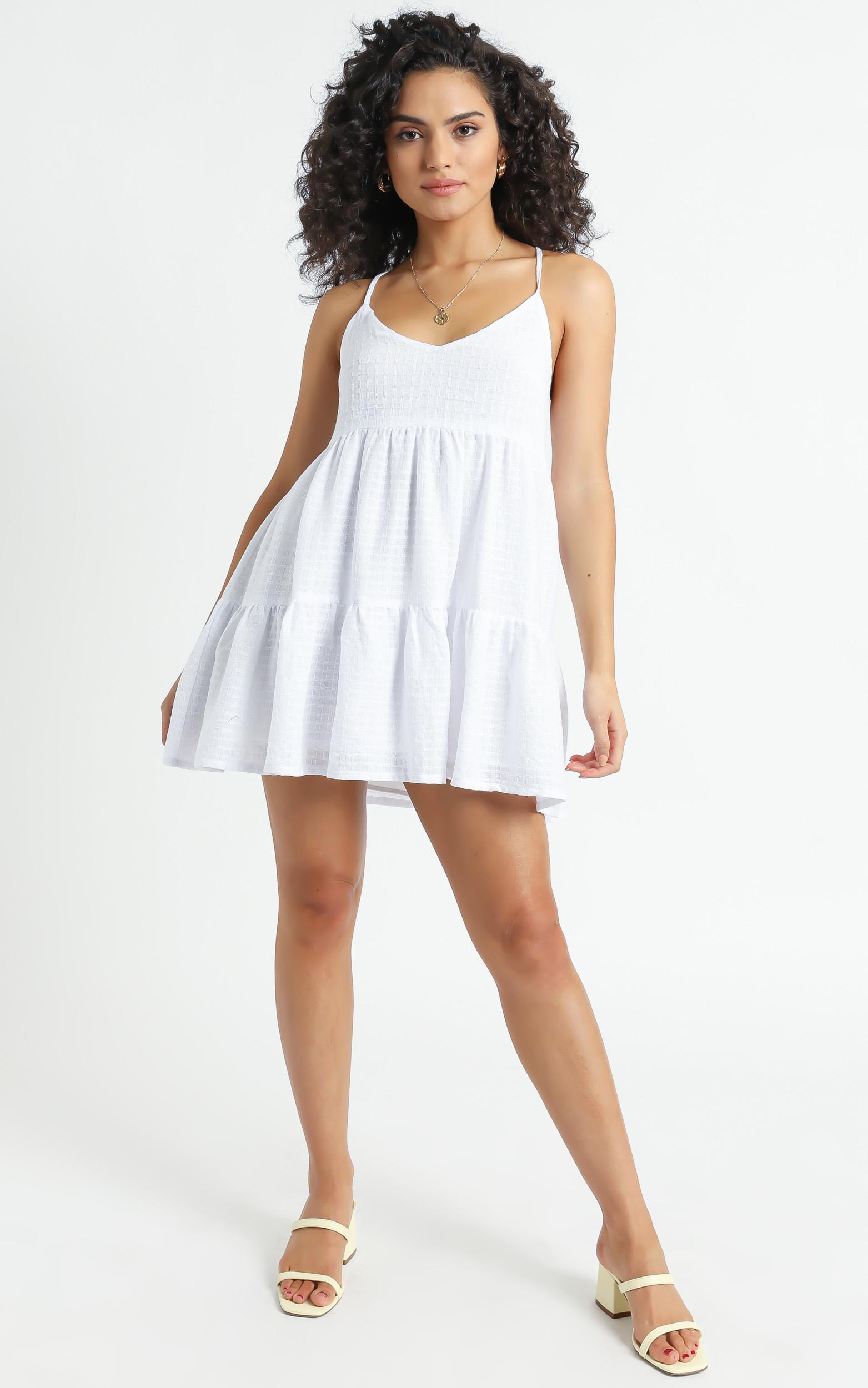 Salina Dress in White - 6 (XS), White, hi-res image number null