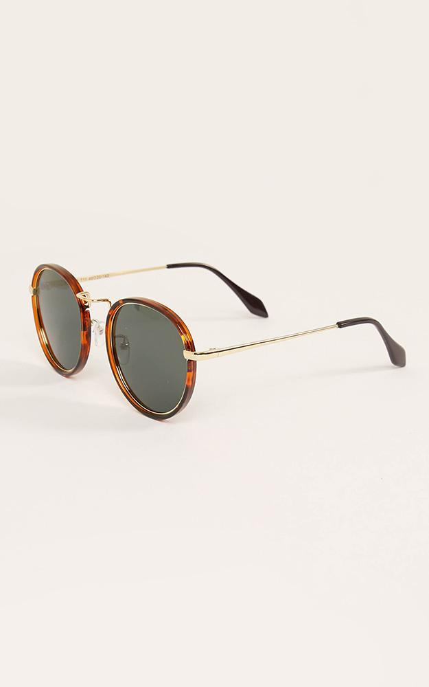 Never Going Home Sunglasses In Tortoise Shell, , hi-res image number null