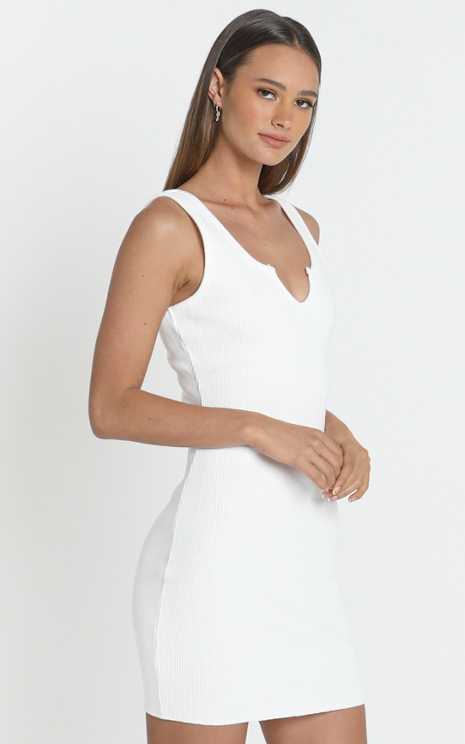 San Jose Dress in white - 8 (S), White, hi-res image number null