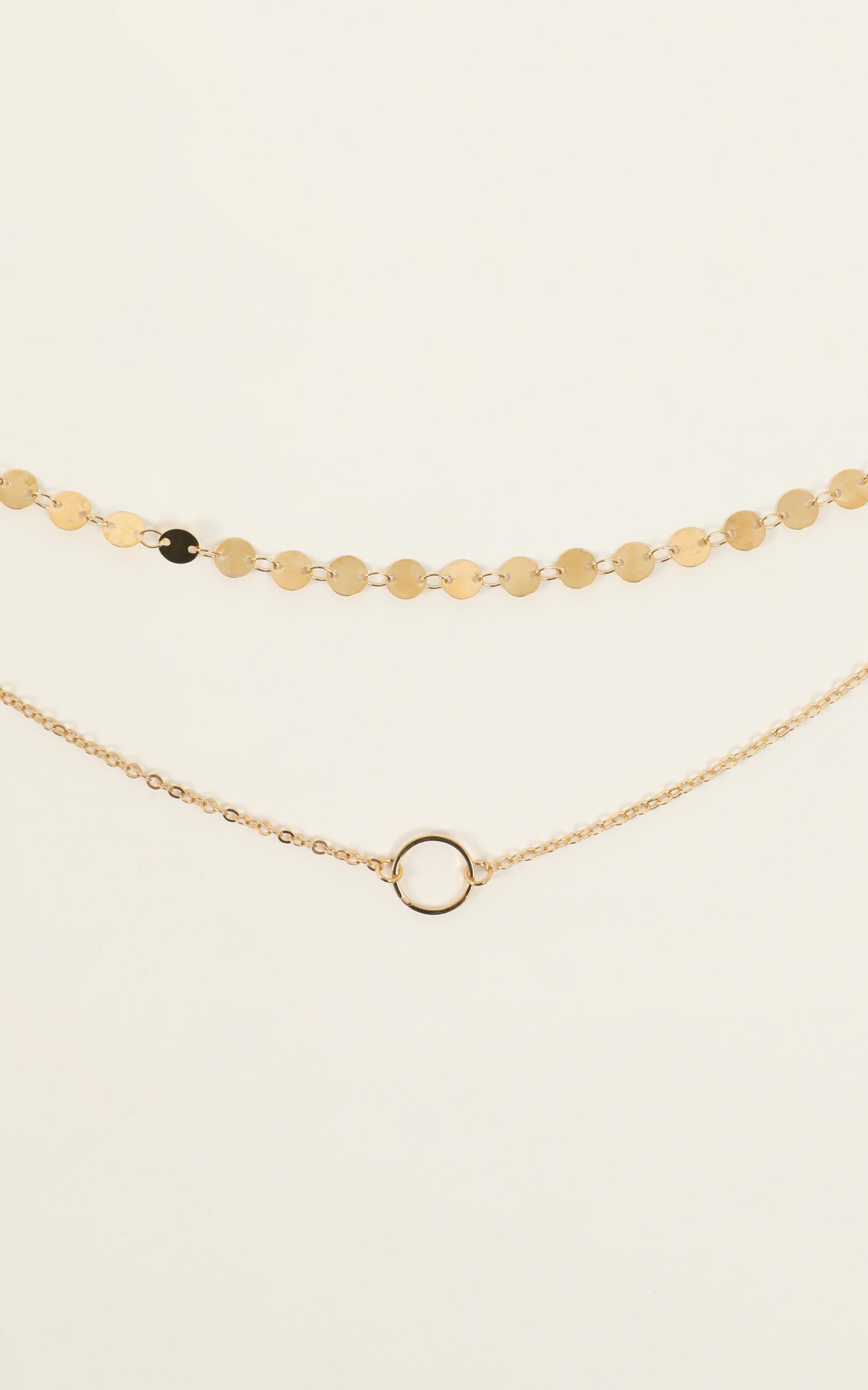 Magical Night Choker In Gold, Gold, hi-res image number null