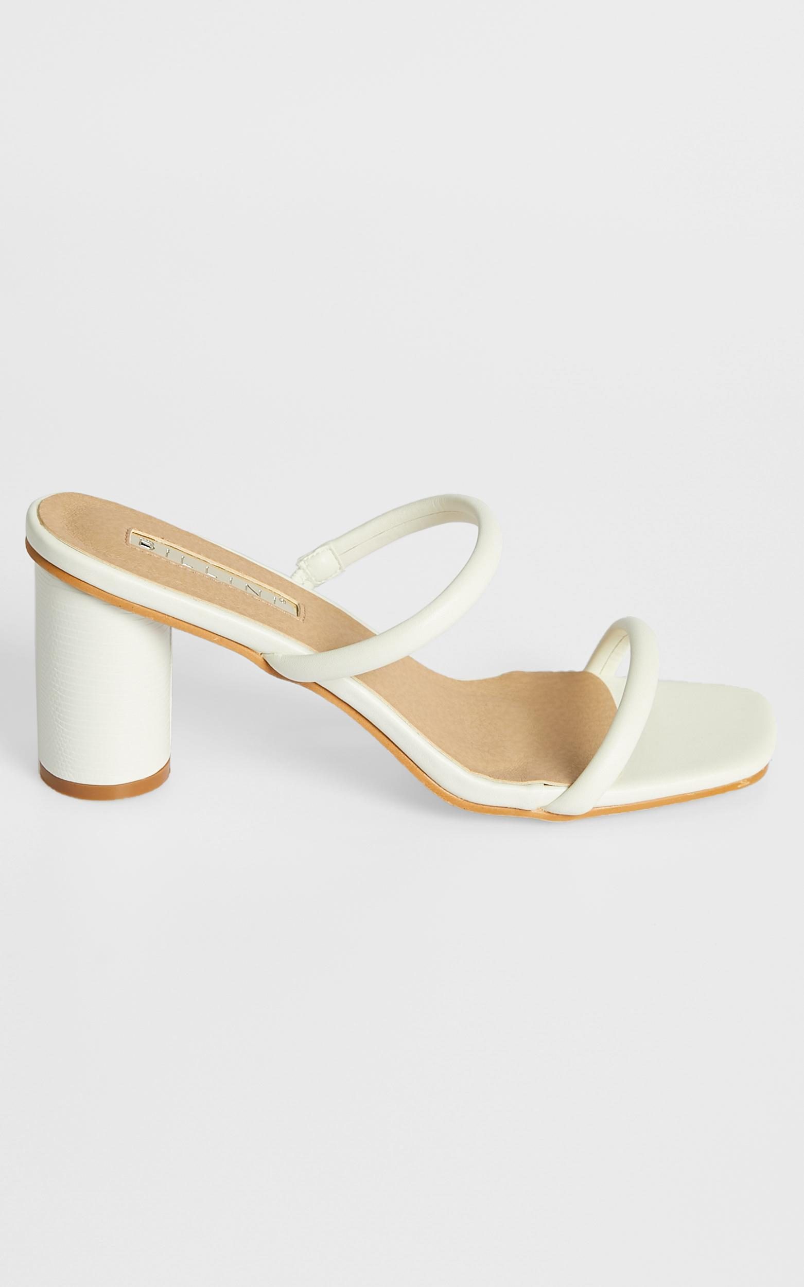 Billini - Davey Heels in White - 5, White, hi-res image number null