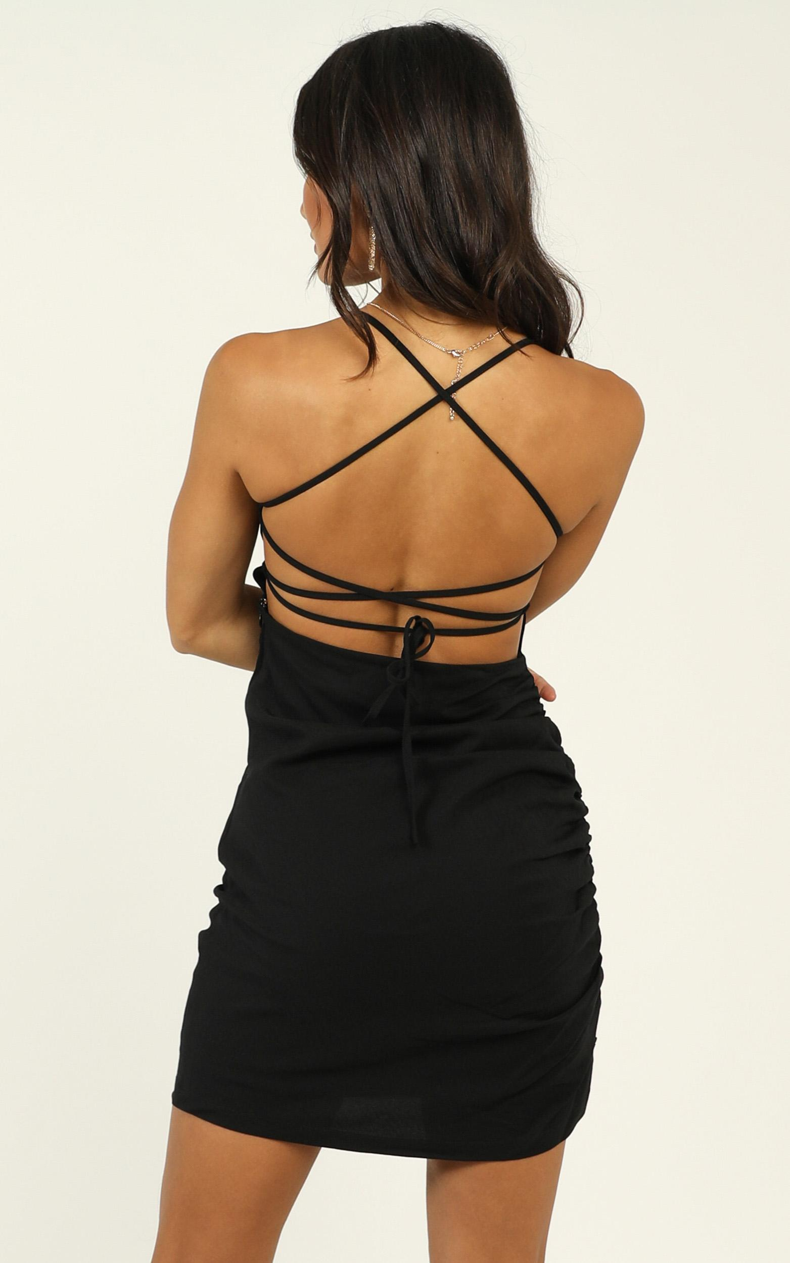 Closer To Me dress in black - 20 (XXXXL), Black, hi-res image number null