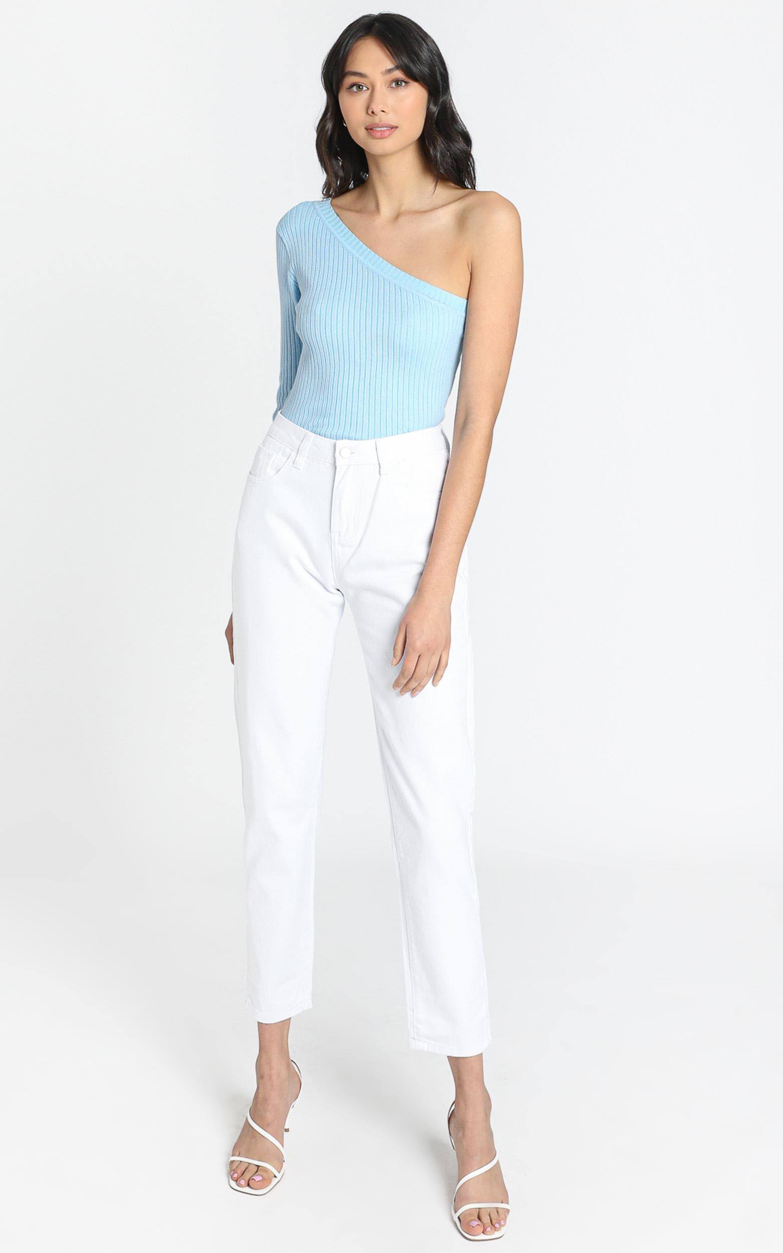 Back it up MOM jeans White - 6 (XS), White, hi-res image number null