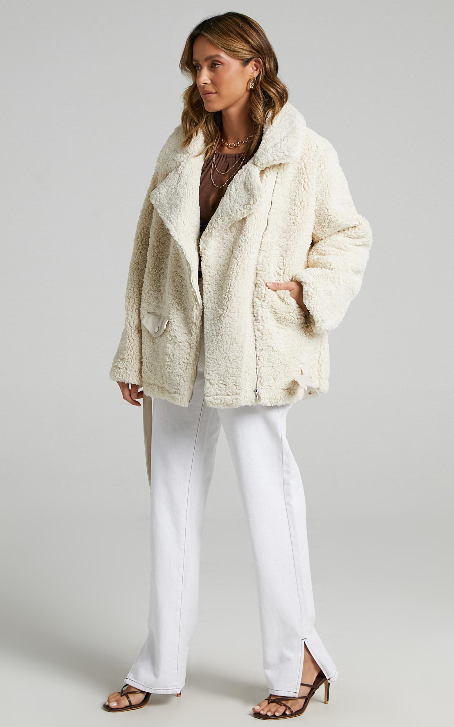 On The Road Jacket in Cream - 12 (L), Cream, hi-res image number null