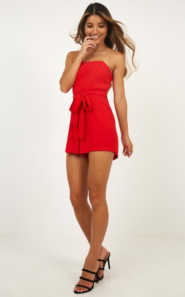 First Priority playsuit in red - 12 (L), Red, hi-res image number null