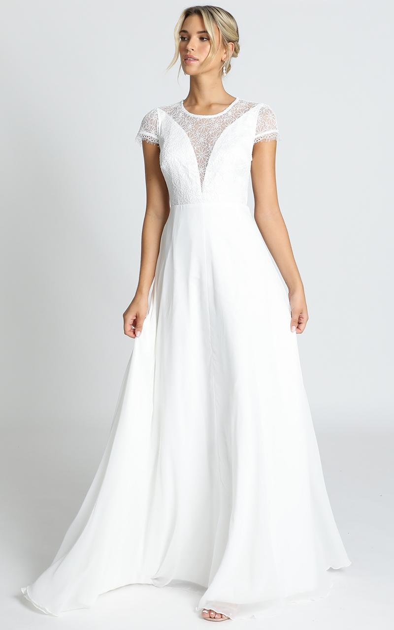 Everlasting Gown in white - 20 (XXXXL), White, hi-res image number null