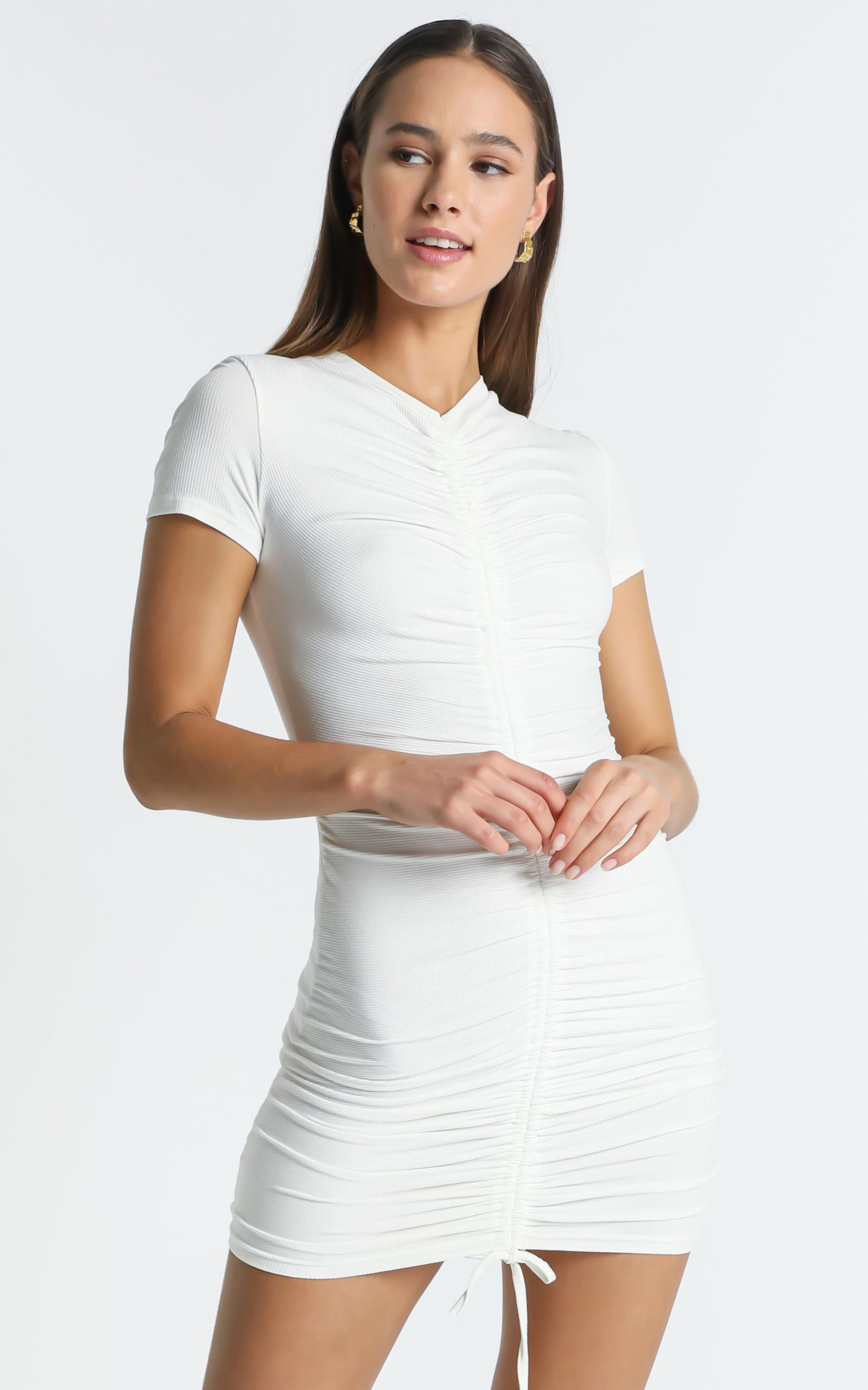 Kayne Dress in White - 6 (XS), White, hi-res image number null