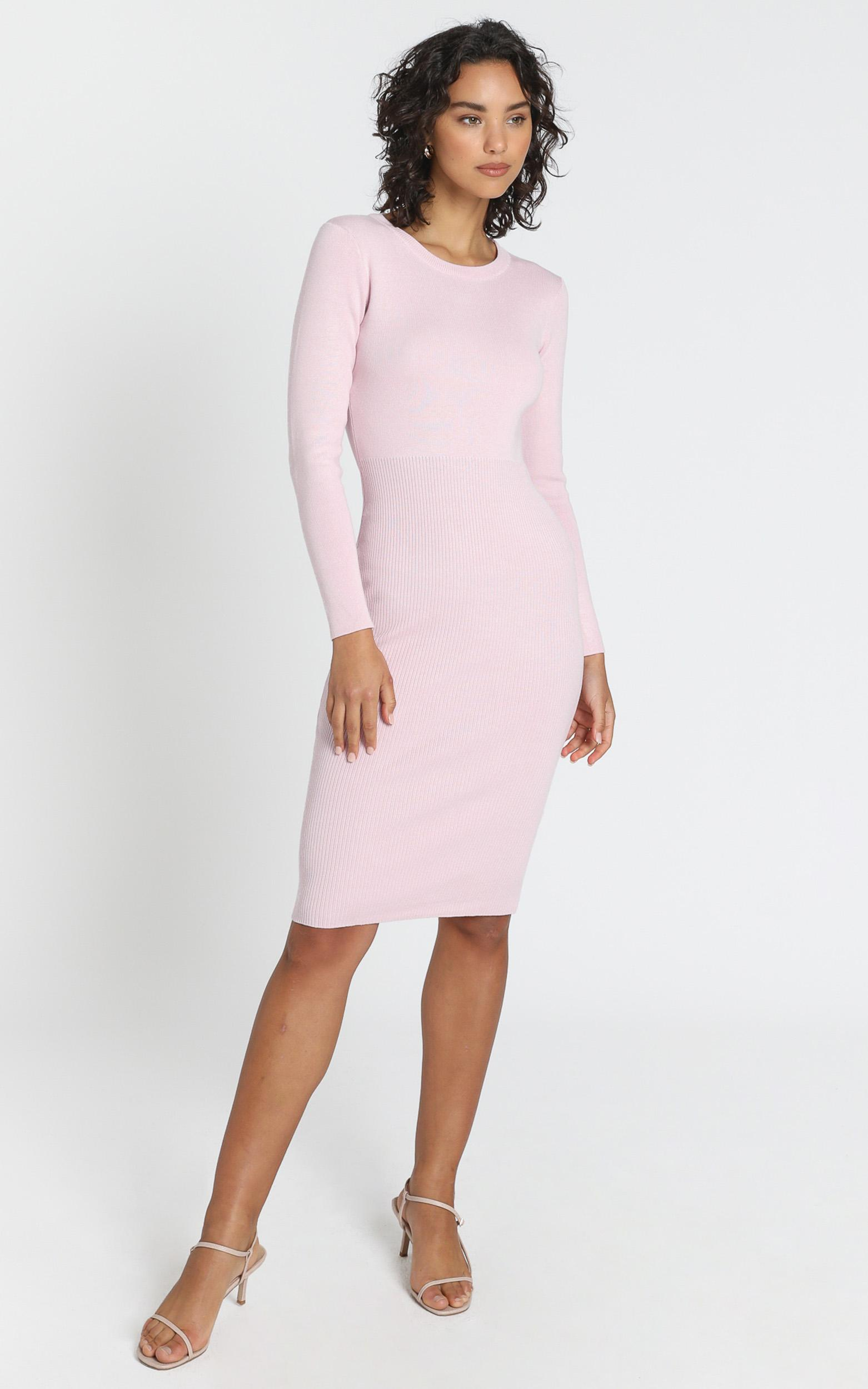 Irina Dress in Baby Pink - XS/S, Pink, hi-res image number null