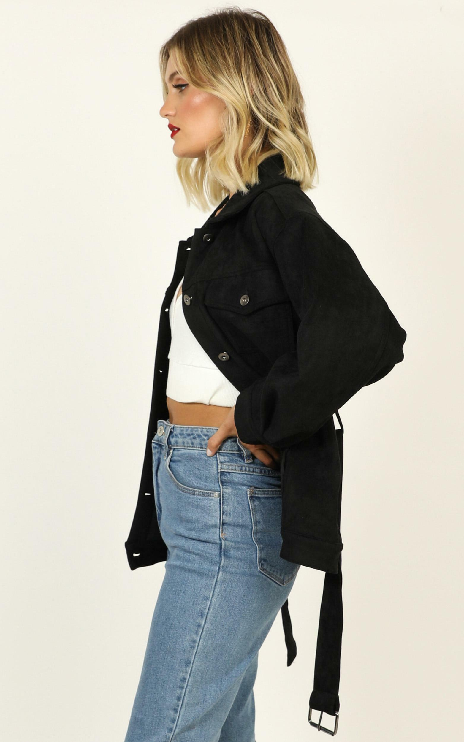 Ready to Go Again jacket in black - 12 (L), Black, hi-res image number null