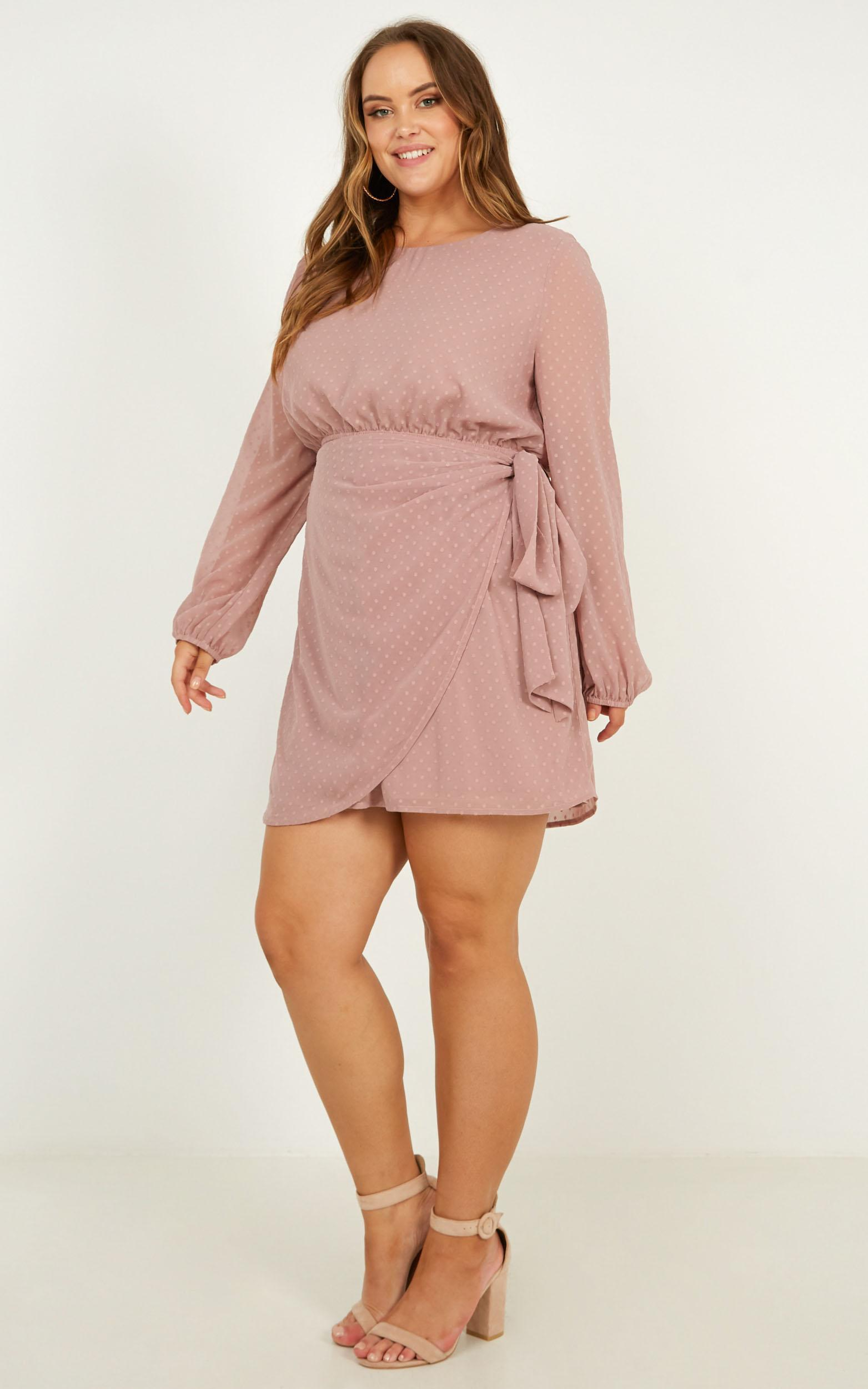 Lilliana dress in blush - 20 (XXXXL), Blush, hi-res image number null