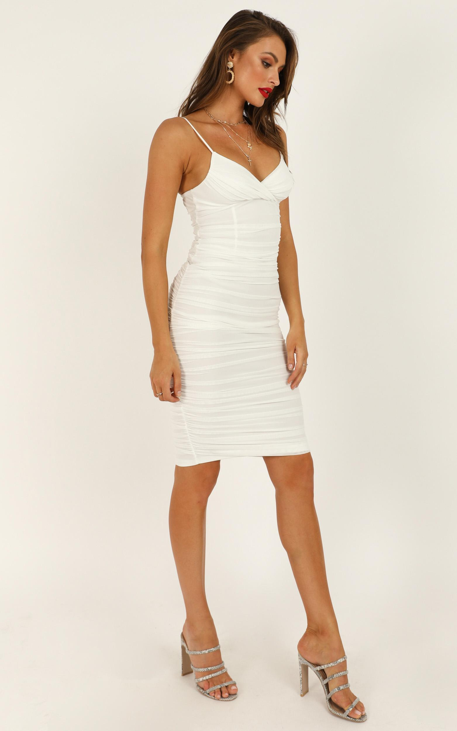 Snowy Hill dress in white - 12 (L), White, hi-res image number null