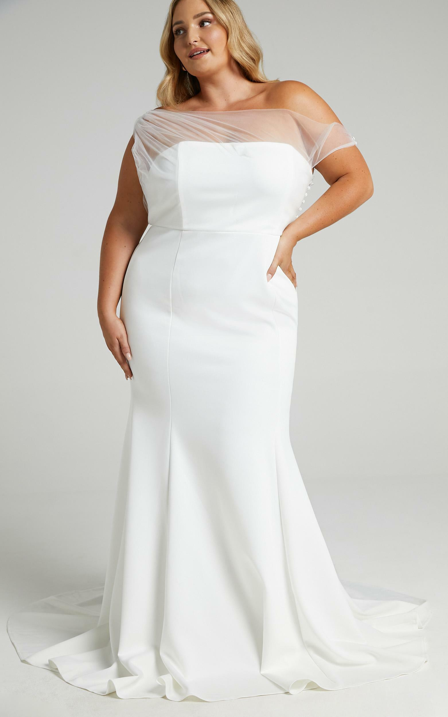 Put A Ring On It Gown in White - 04, WHT1, hi-res image number null