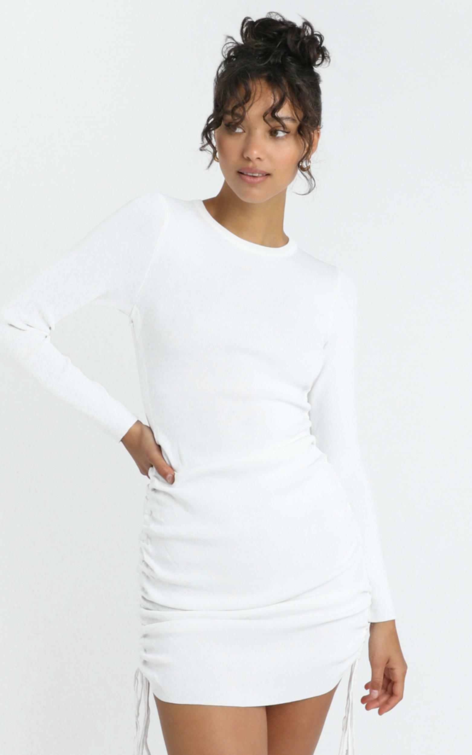 Lioness - Military Minds Long Sleeve in White - 6 (XS), WHT1, hi-res image number null