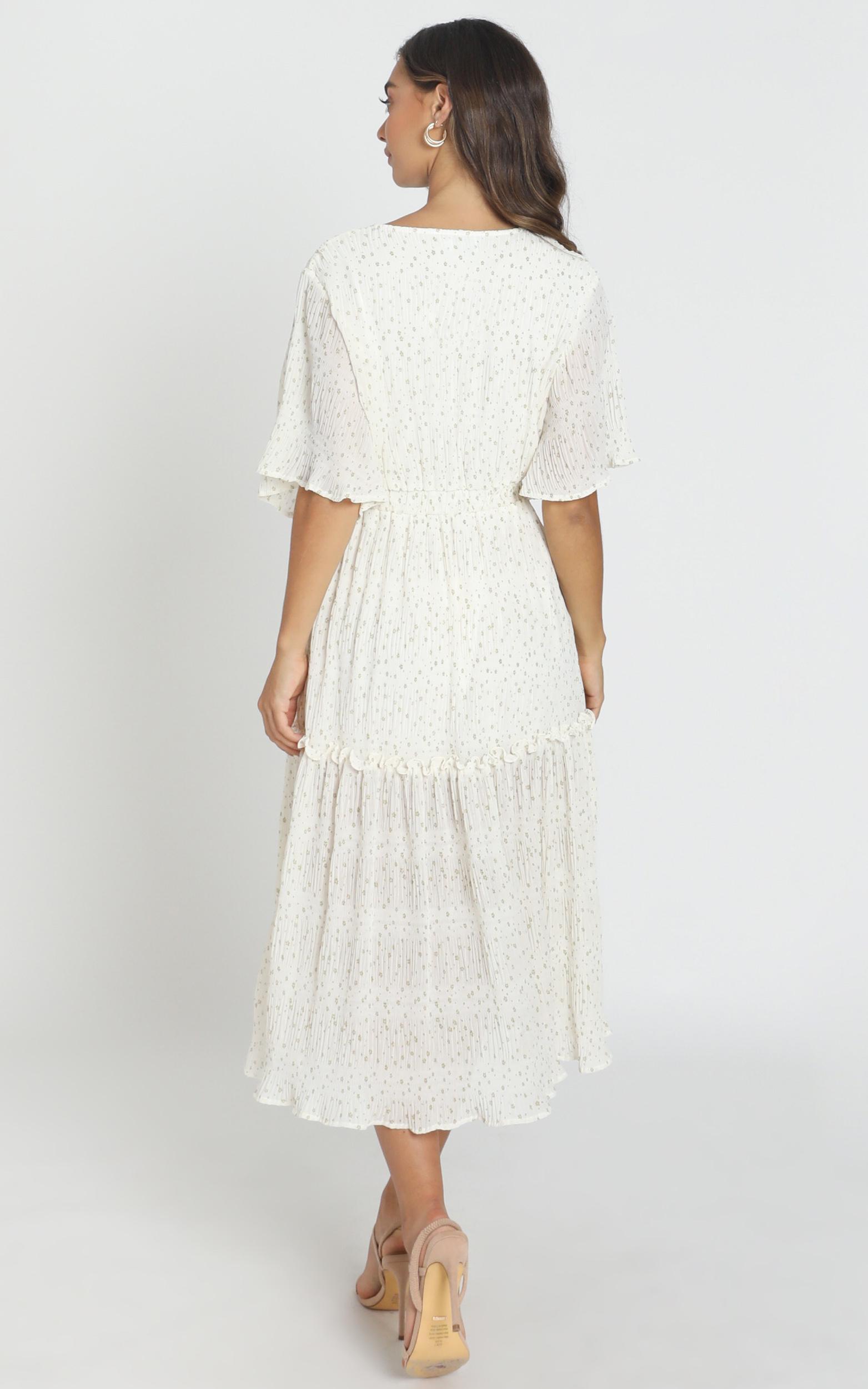 Remi Midi Dress in white - 6 (XS), White, hi-res image number null