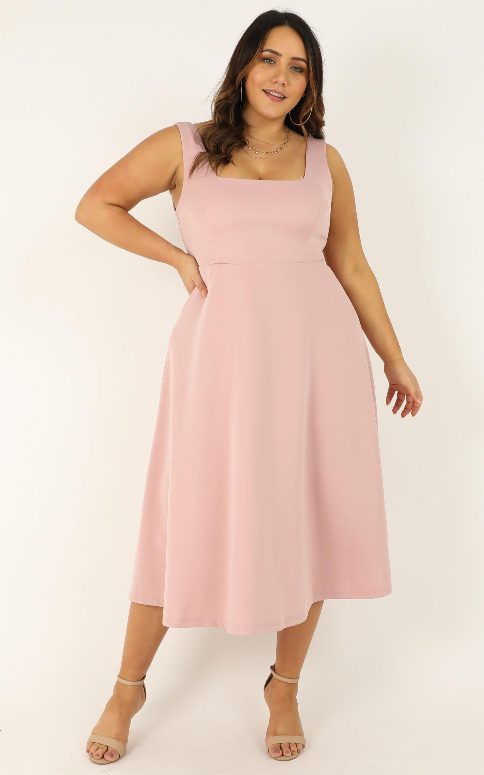 When I love Dress in blush - 20 (XXXXL), Pink, hi-res image number null