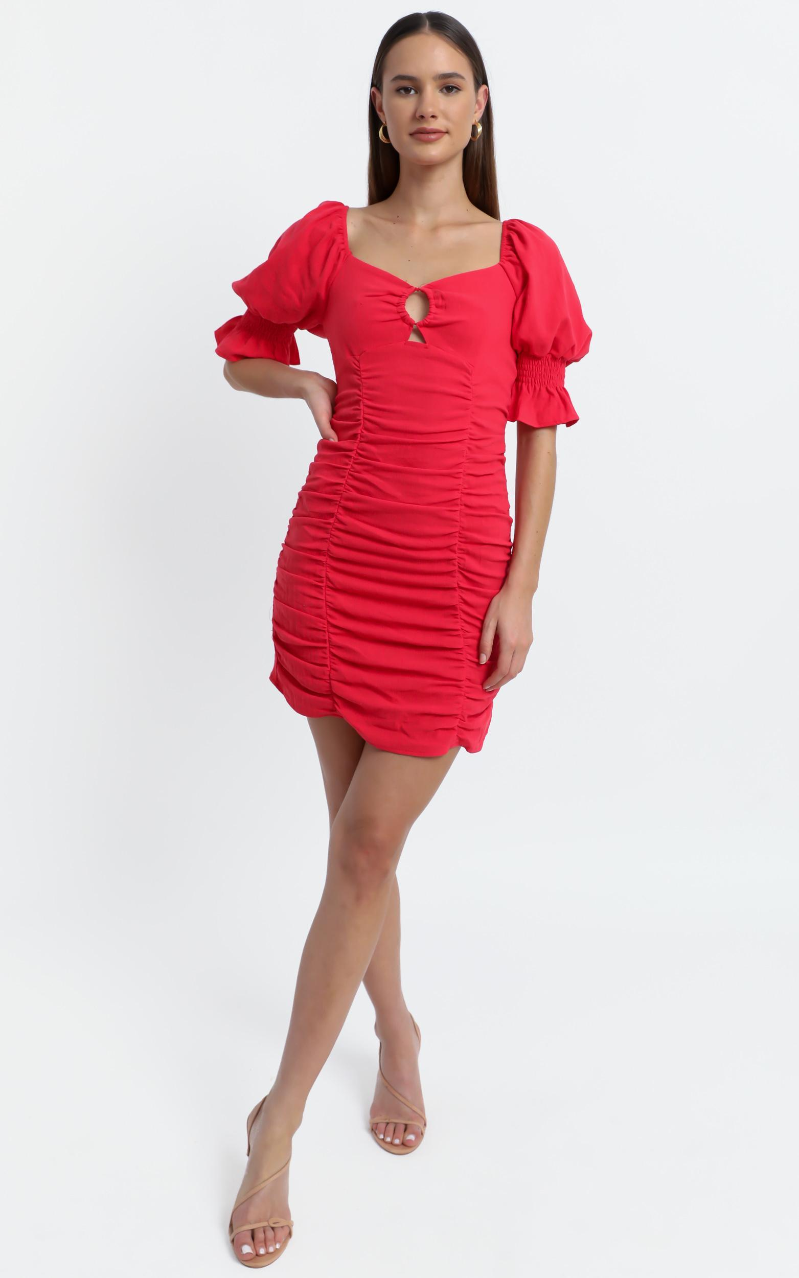 Coty Dress in Red - 6 (XS), Red, hi-res image number null
