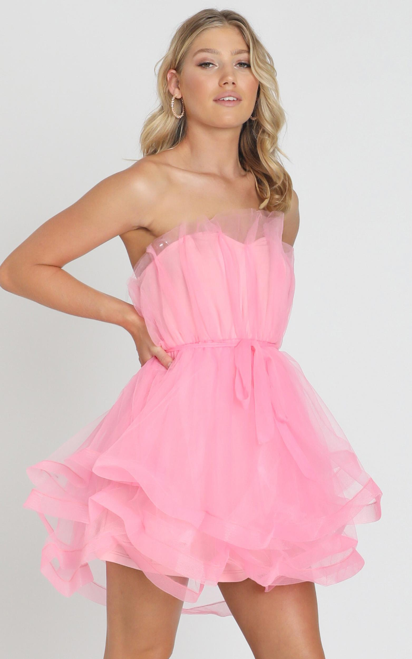 Sheffield Dress in pink - 8 (S), Pink, hi-res image number null