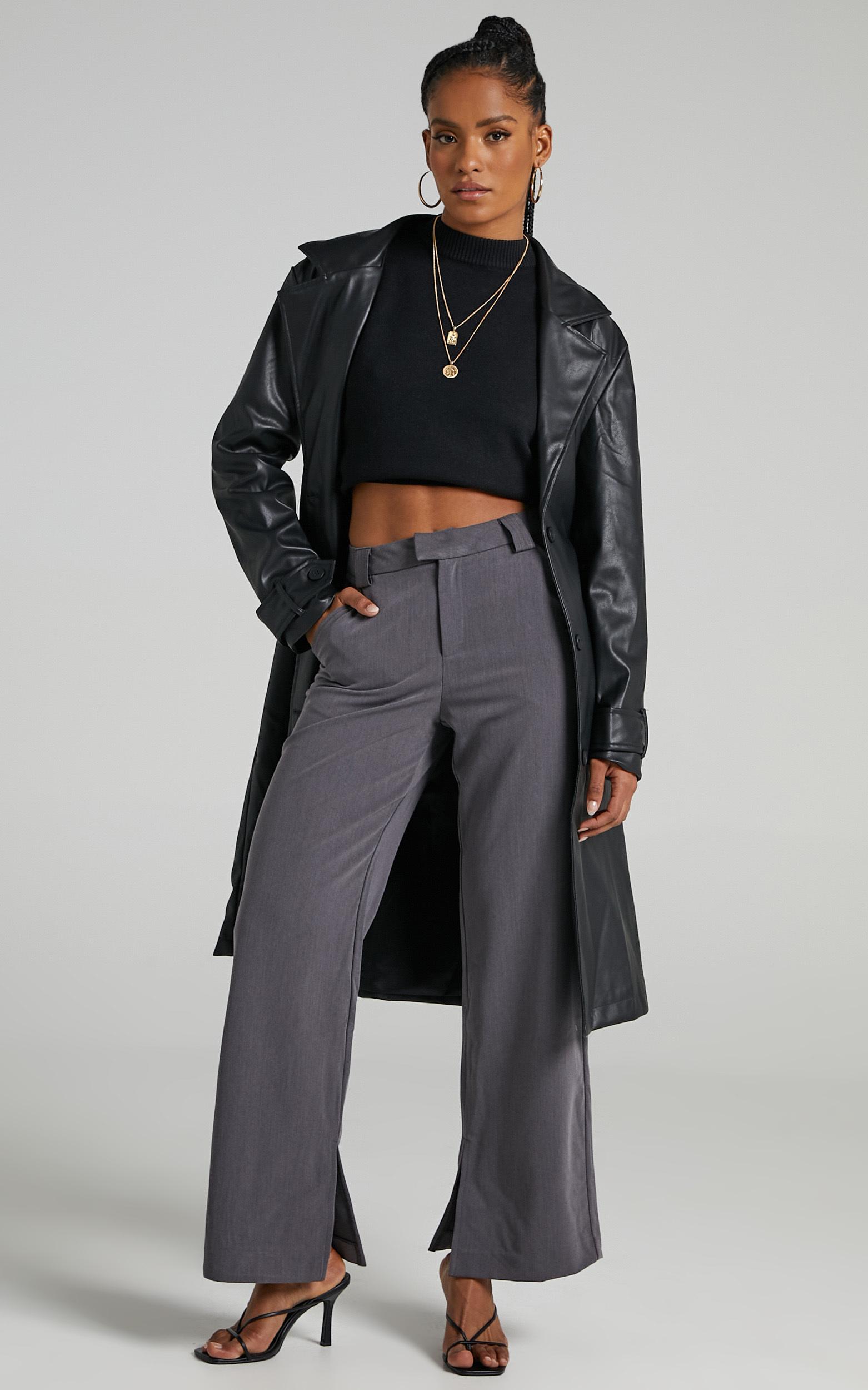 Desdemona Coat in Black - 06, BLK1, hi-res image number null