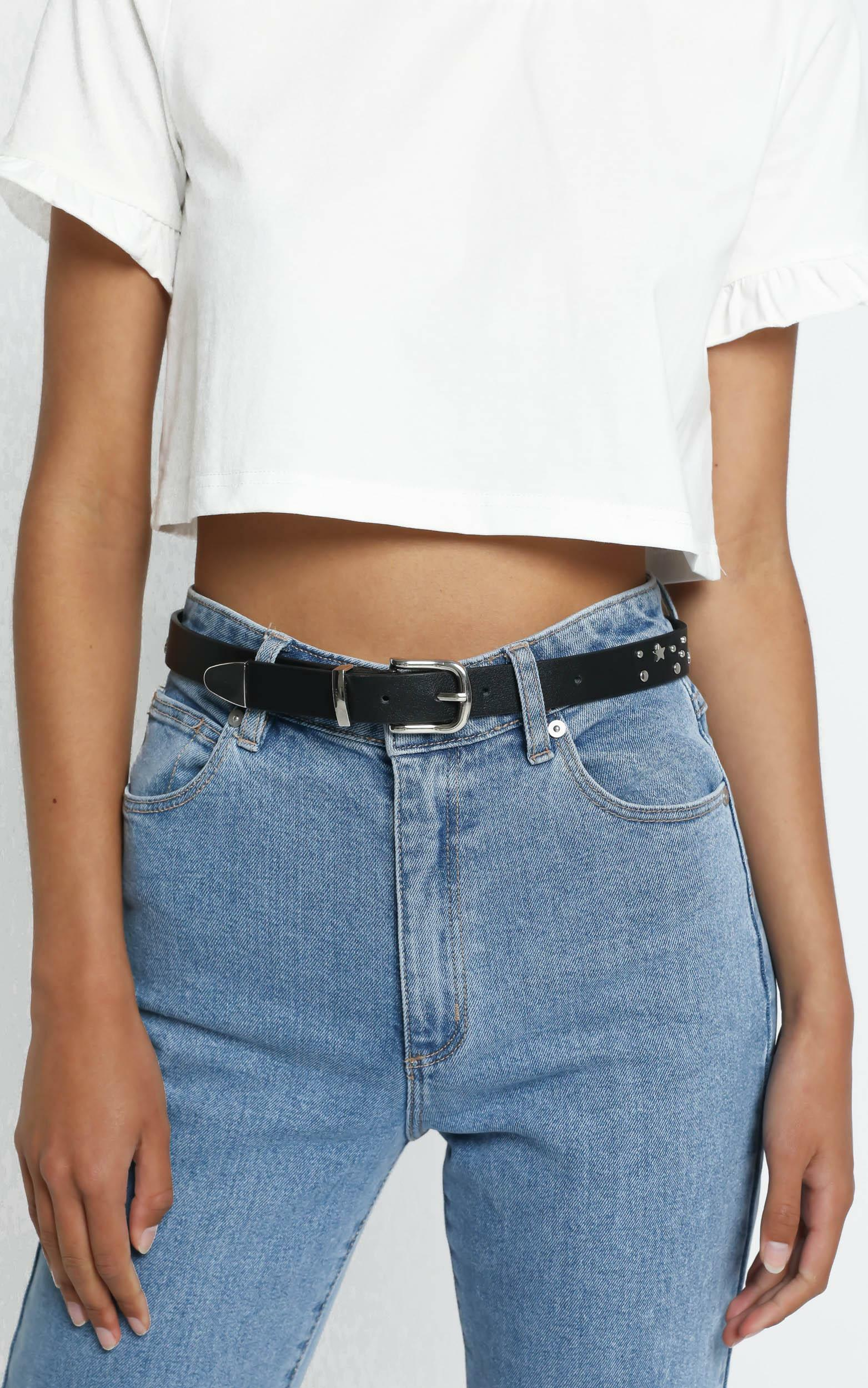 Eila Belt in Black, , hi-res image number null