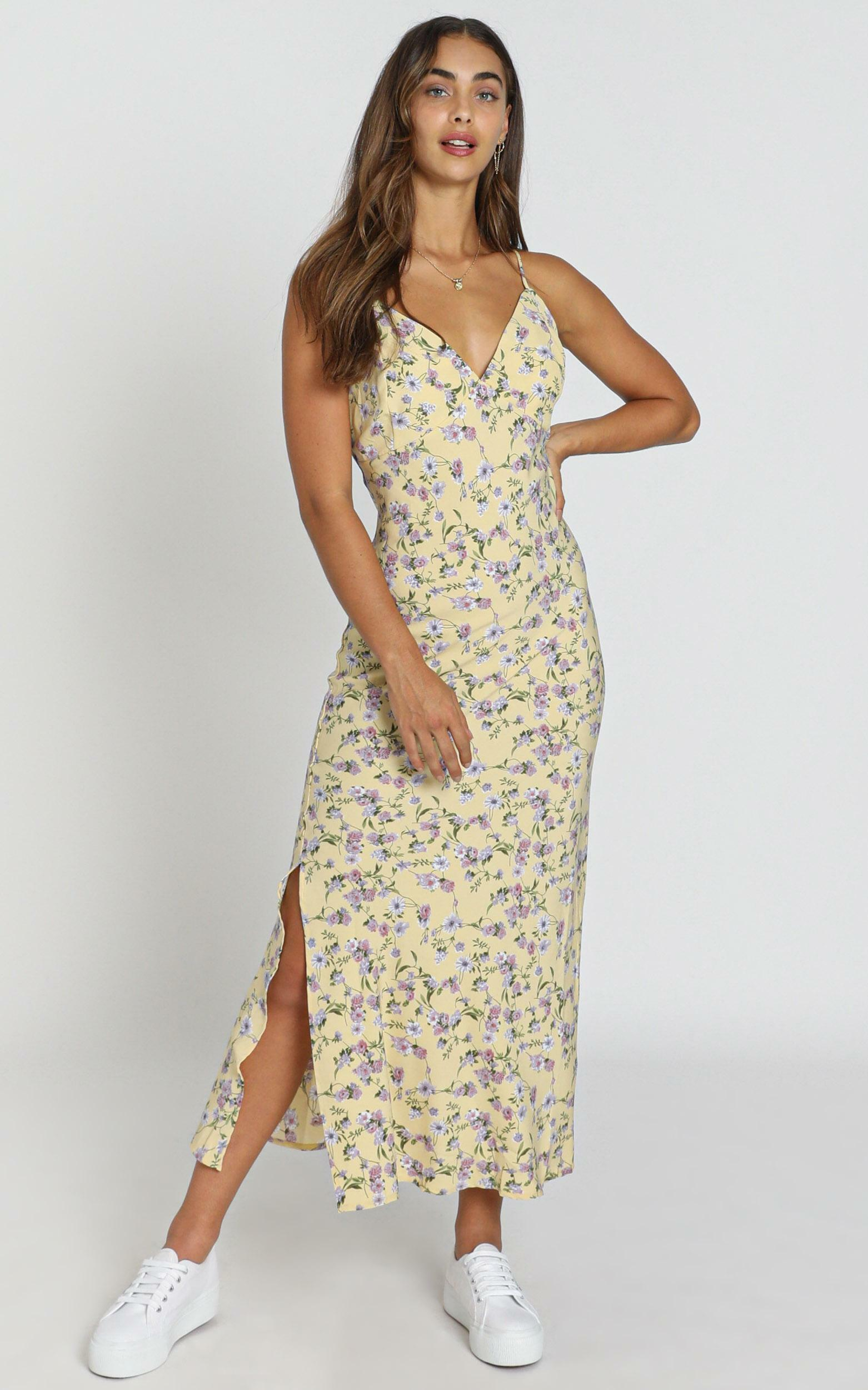 Reese Dress in yellow - 8 (S), Yellow, hi-res image number null