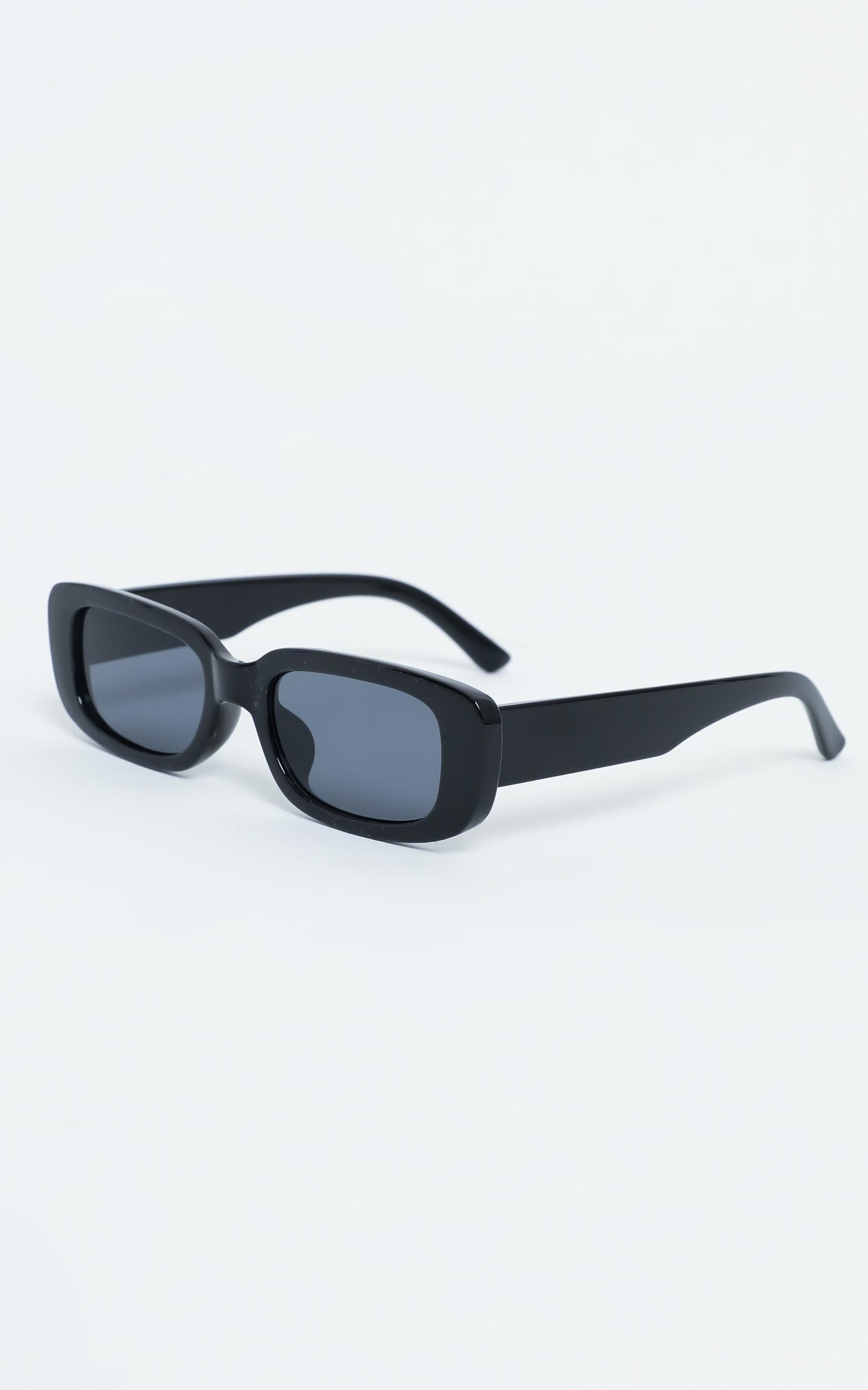 Bianka Sunglasses in Black, , hi-res image number null