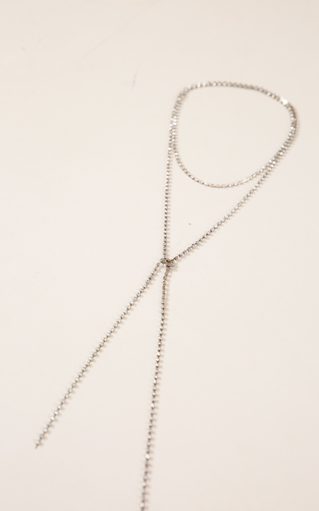 Do It For Love necklace in silver, , hi-res image number null