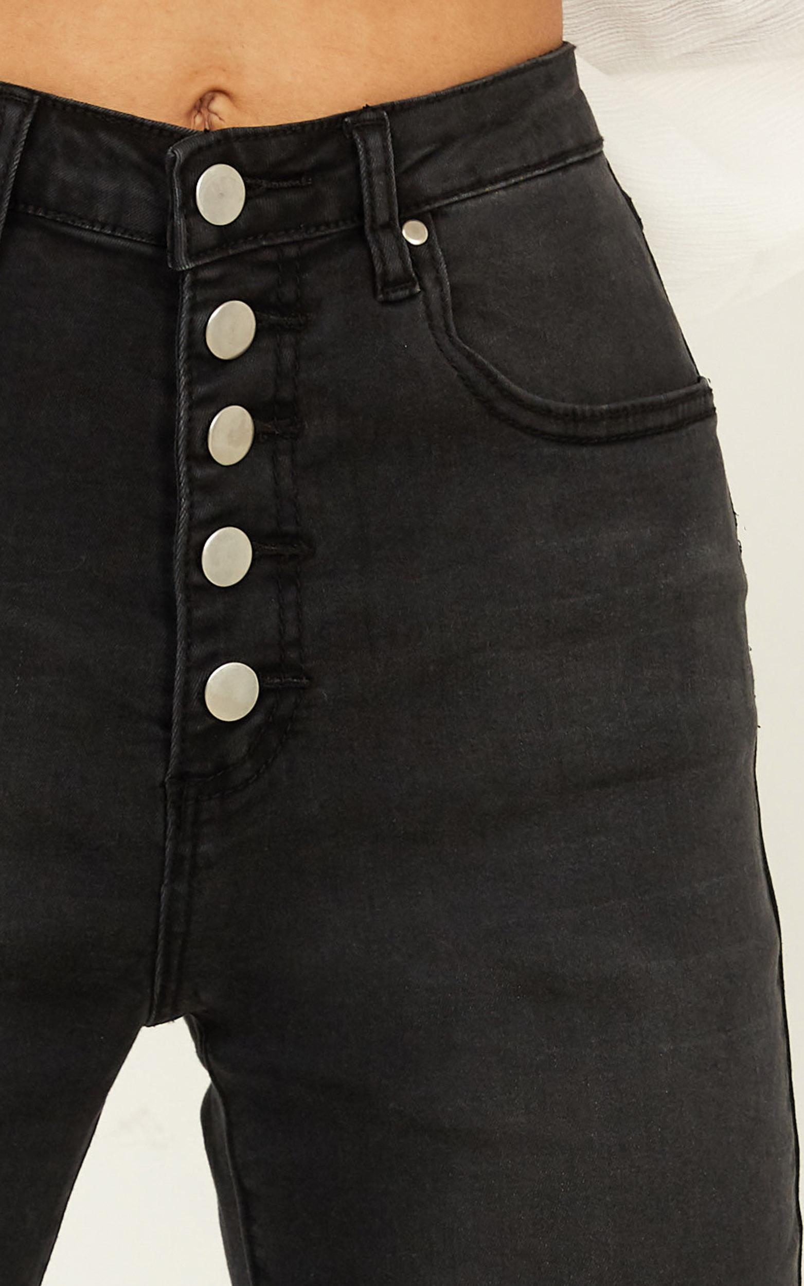 Lisa Jeans In washed black - 14 (XL), Black, hi-res image number null