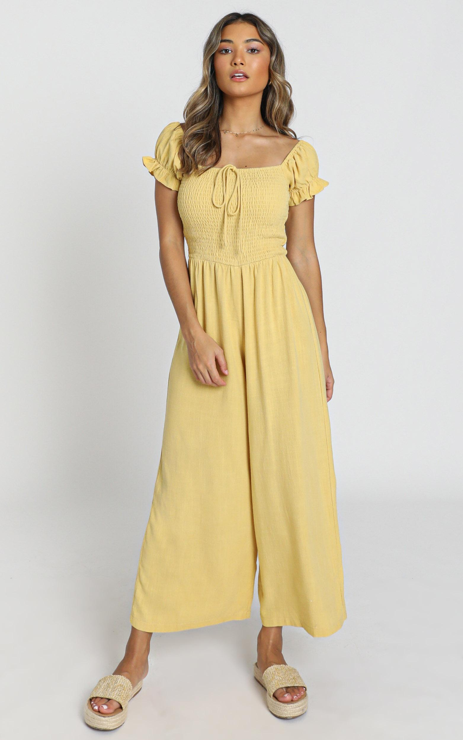 Stacee Dress in yellow - 8 (S), Yellow, hi-res image number null