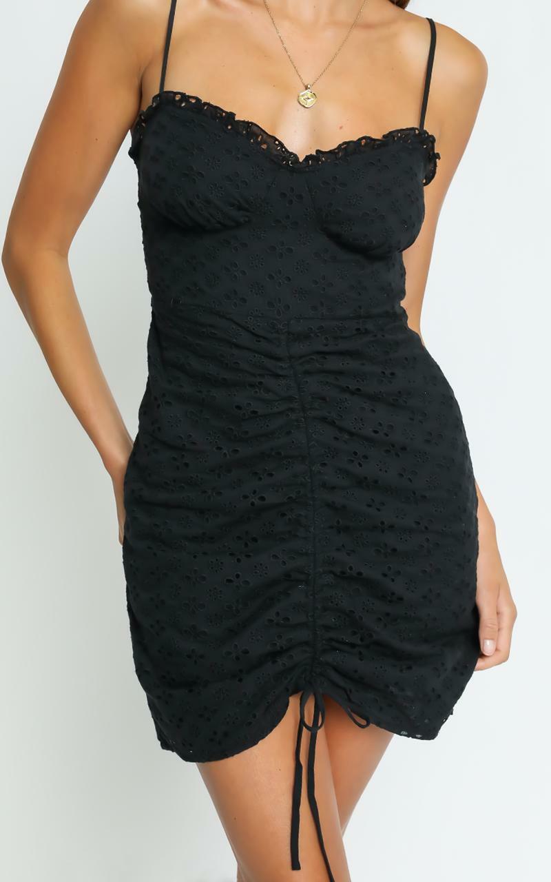 Khloe Dress in Black - 6 (XS), Black, hi-res image number null