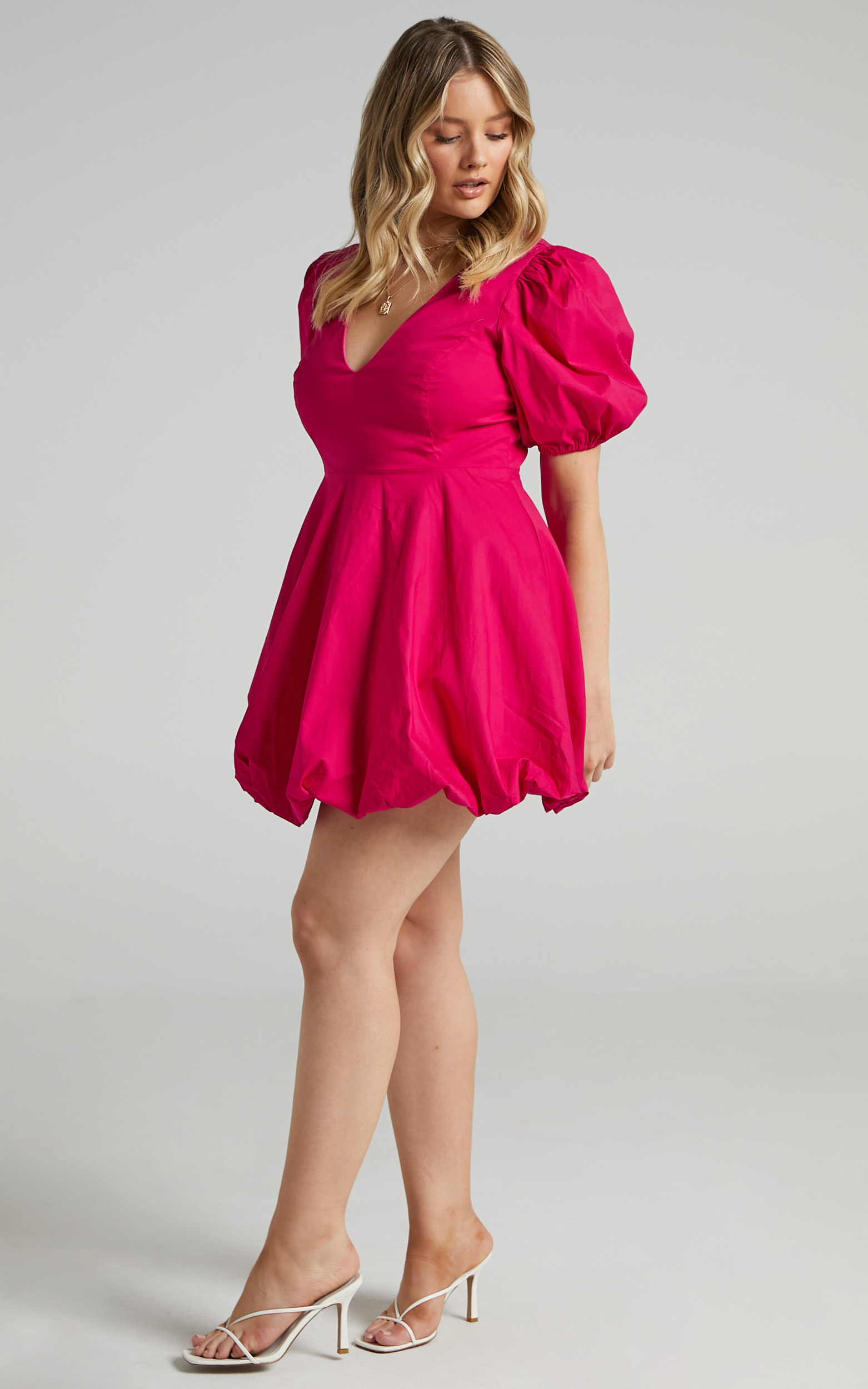 Ebrill Dress in Berry - 06, PNK2, hi-res image number null