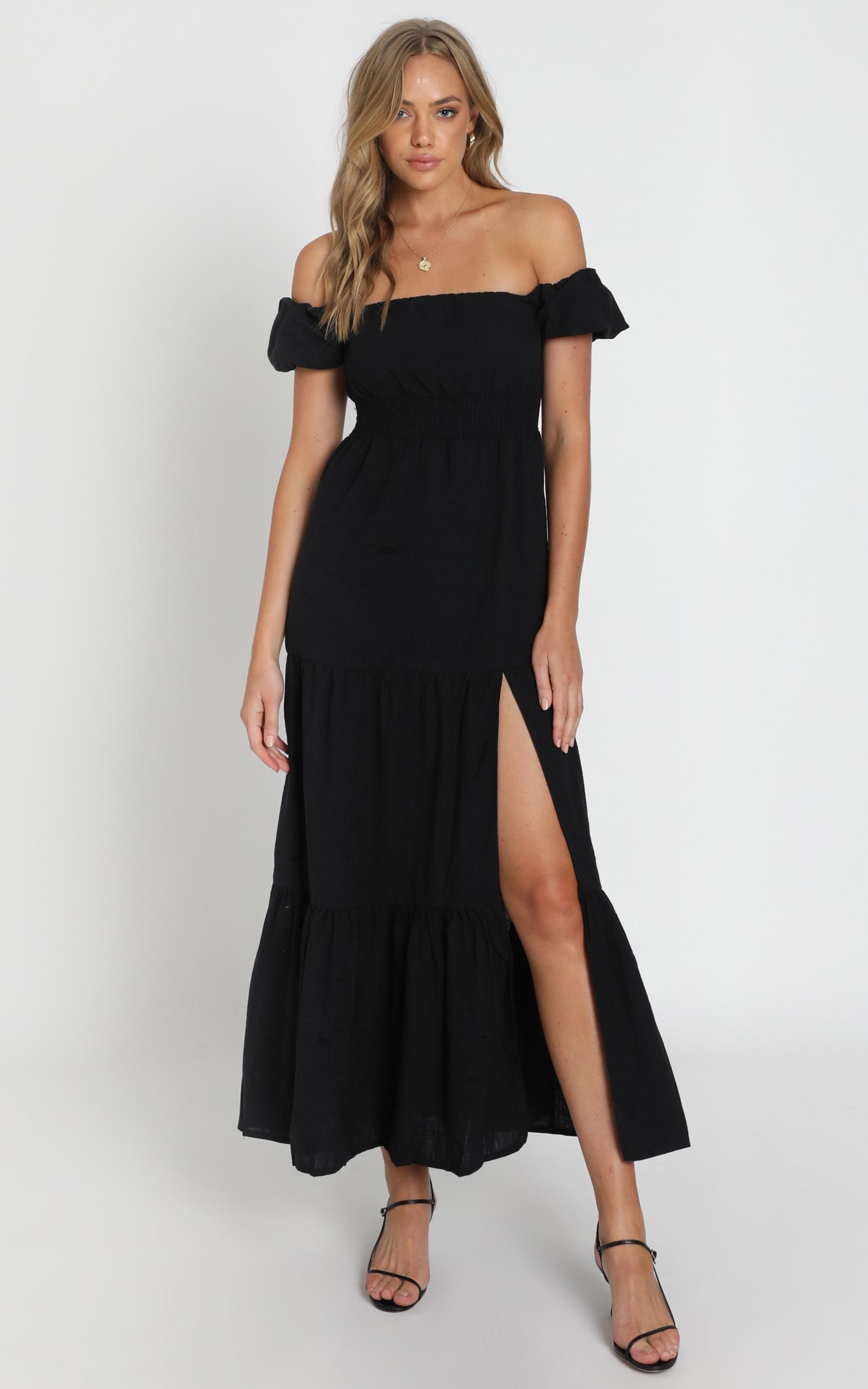 Island Hopper Dress in black - 20 (XXXXL), Black, hi-res image number null