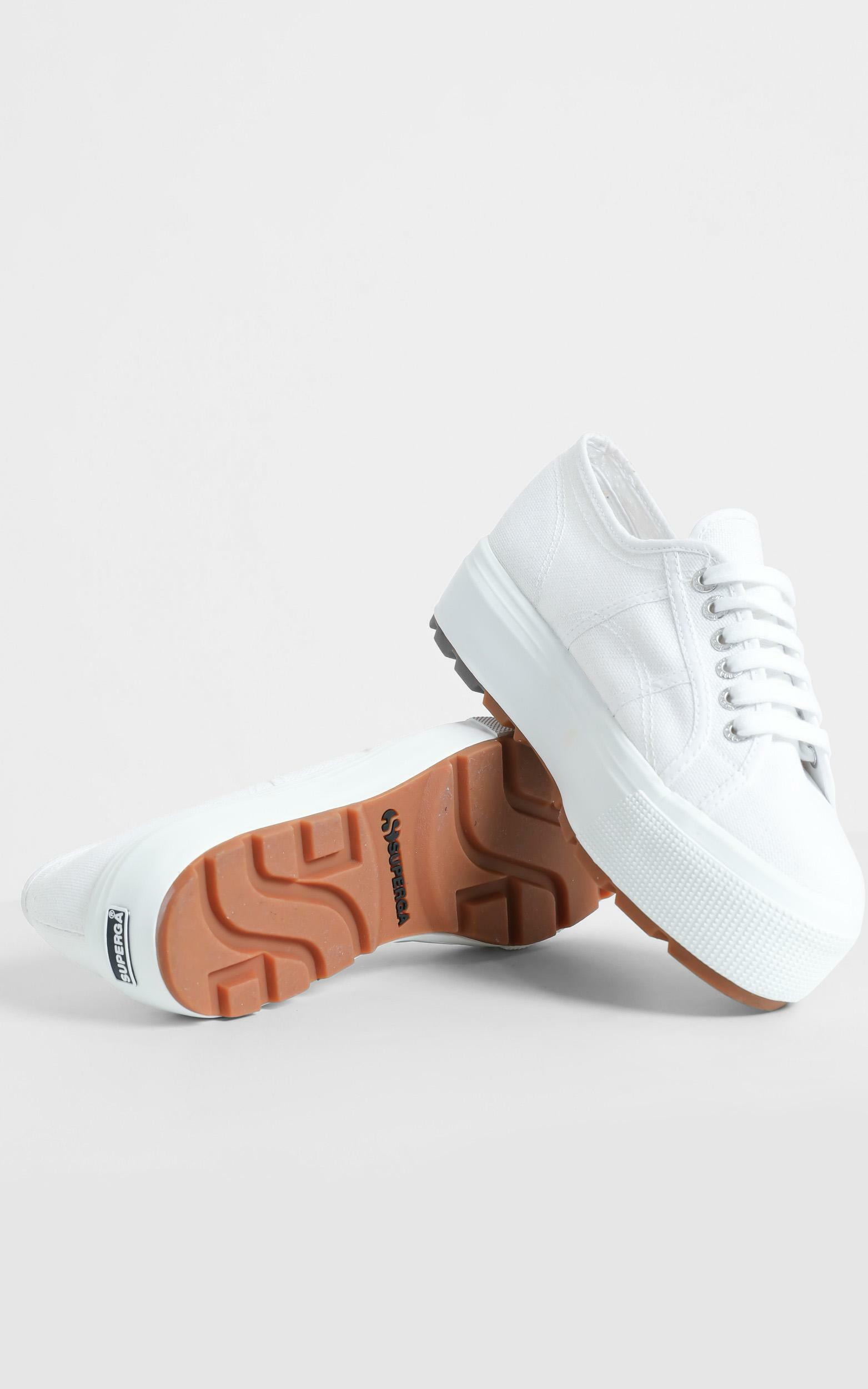 Superga - 2790 Tank COTW sneaker in white - 5, WHT5, hi-res image number null