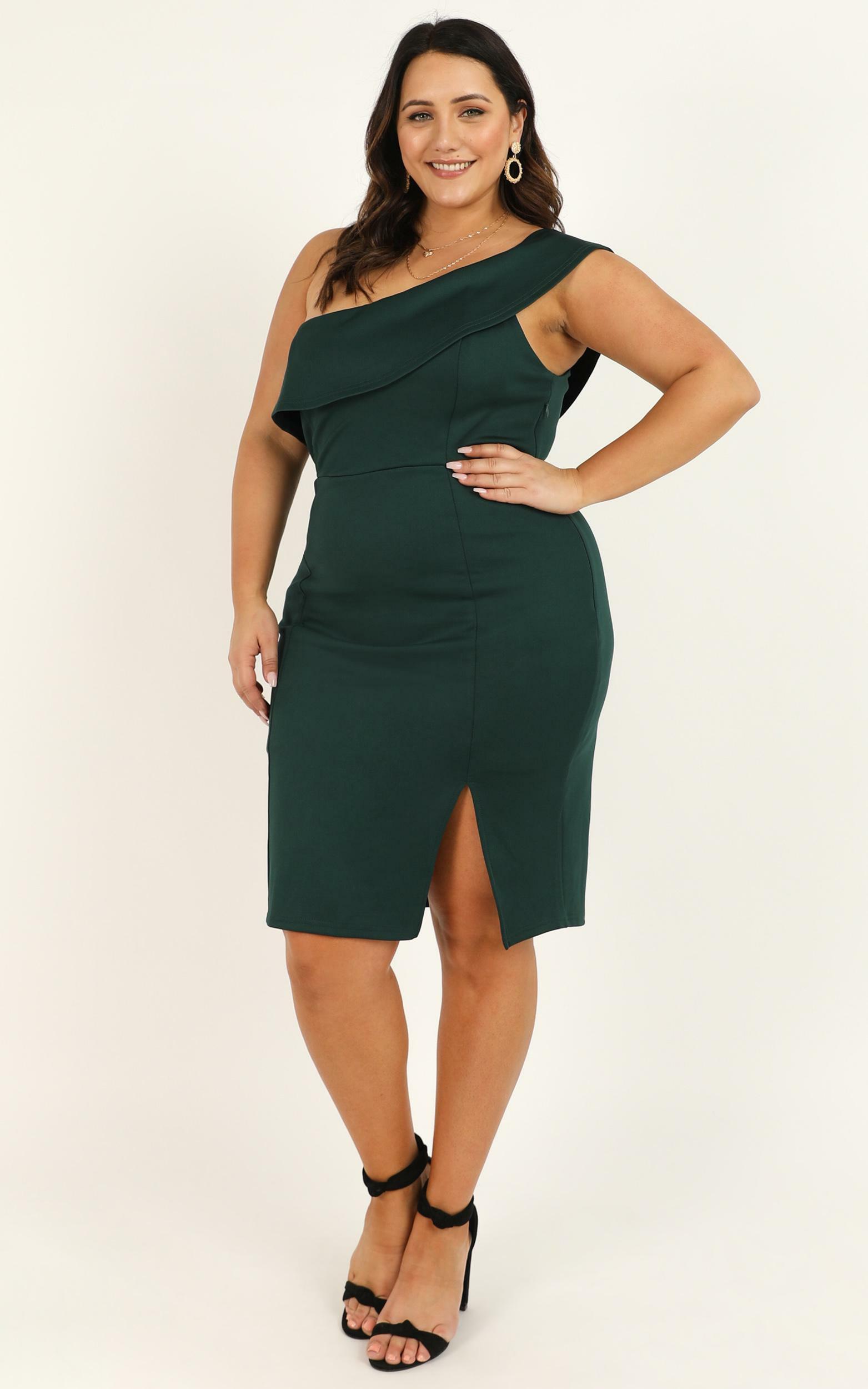 Seven Seas Dress in emerald - 20 (XXXXL), Green, hi-res image number null